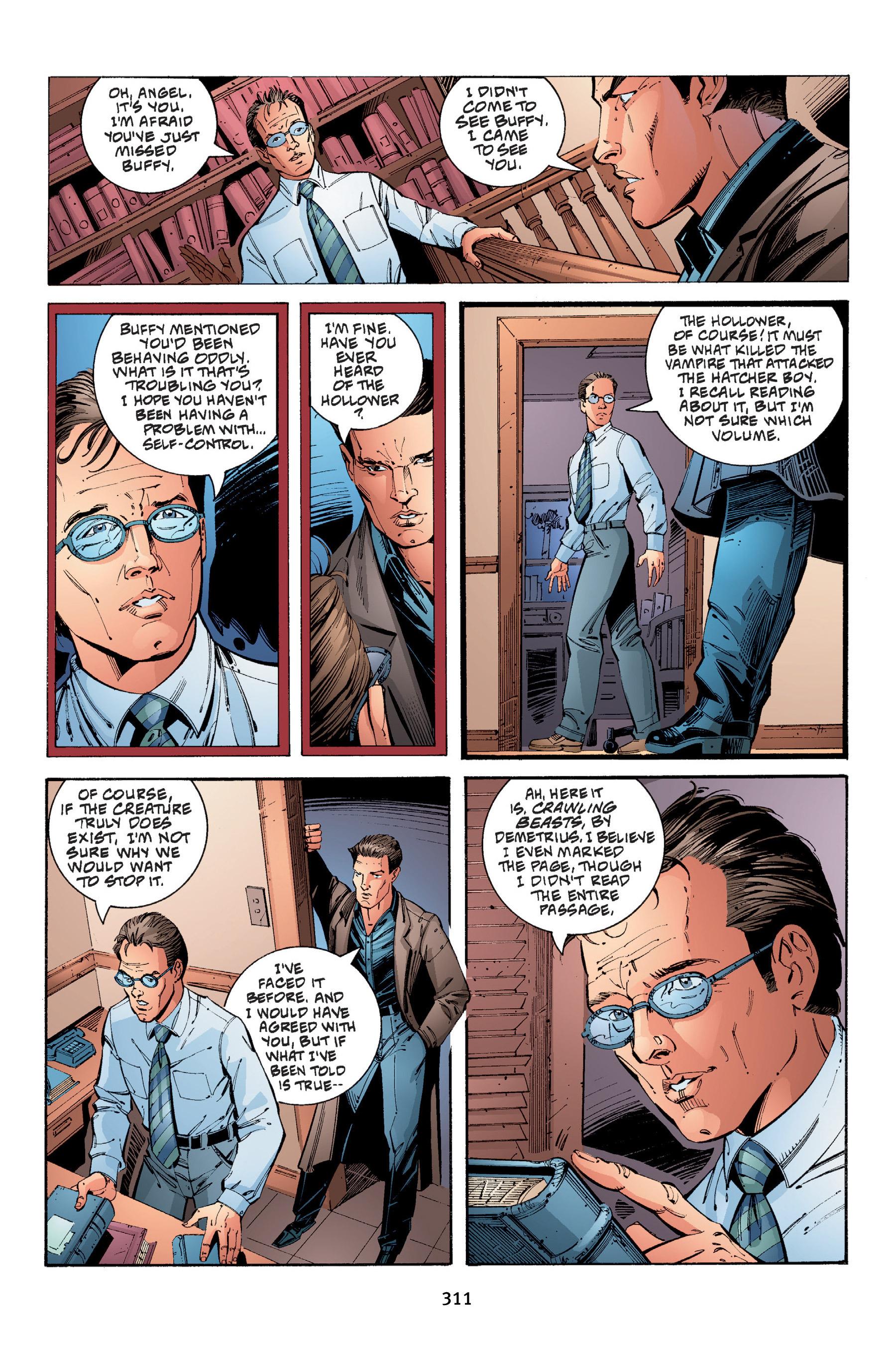Read online Buffy the Vampire Slayer: Omnibus comic -  Issue # TPB 4 - 308
