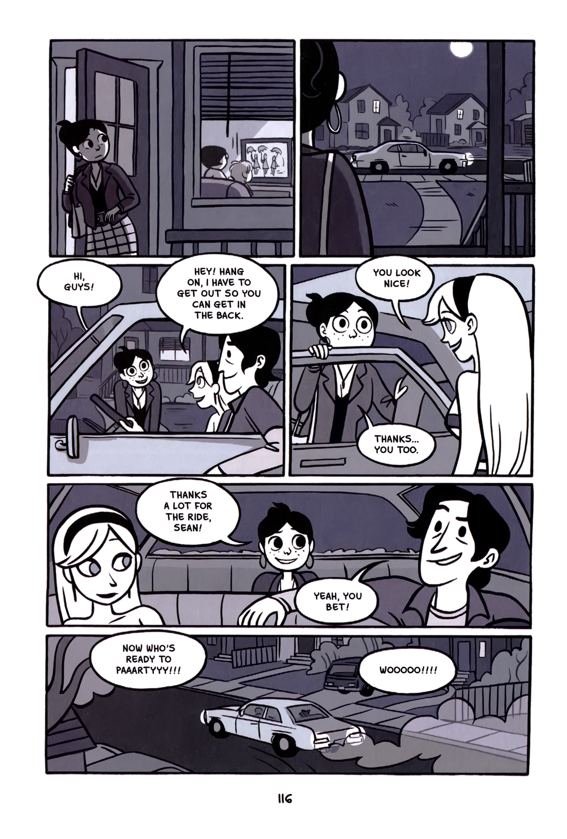 Read online Anya's Ghost comic -  Issue #1 - 117