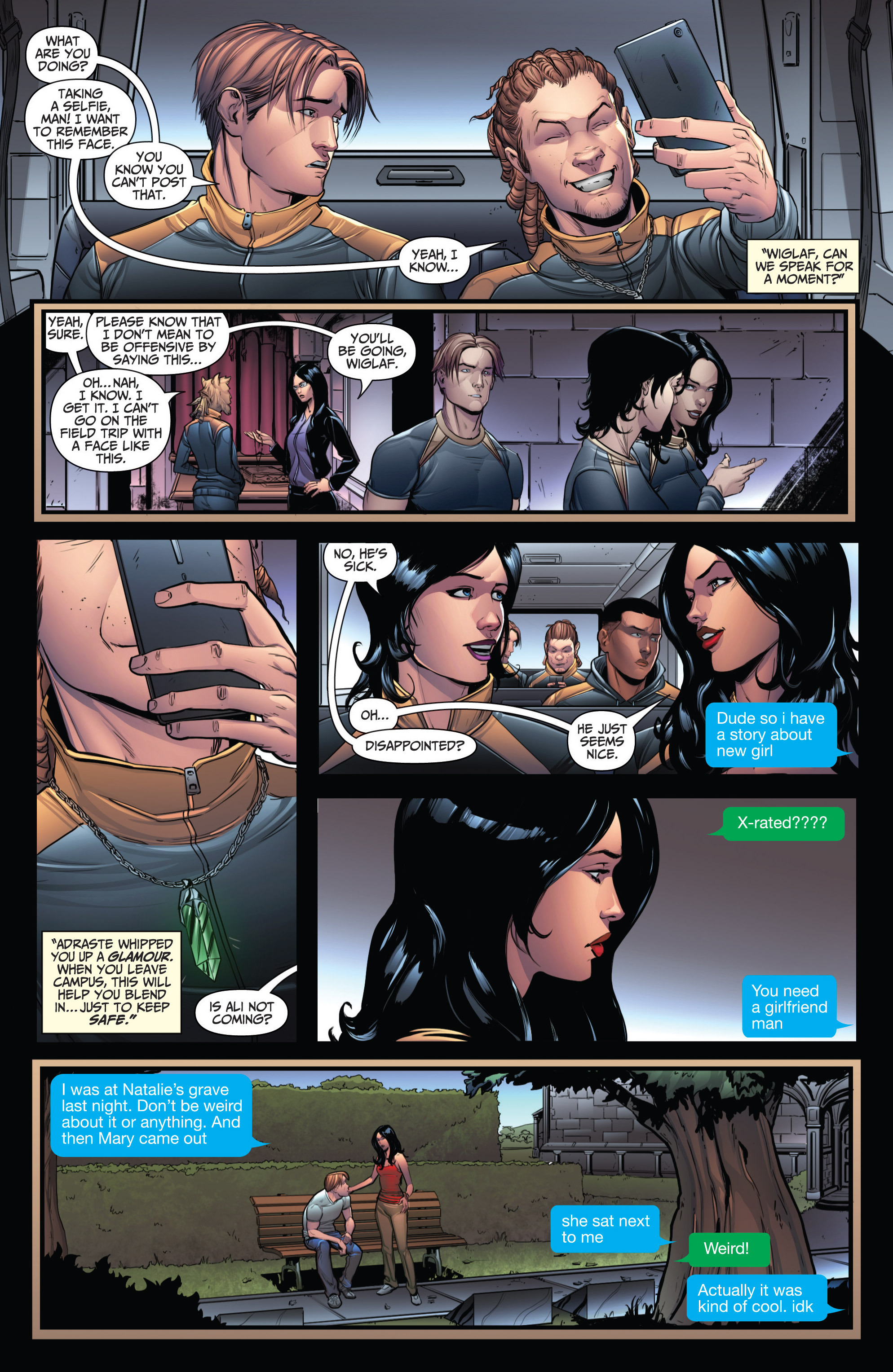 Read online Grimm Fairy Tales: Arcane Acre comic -  Issue # TPB 3 - 55