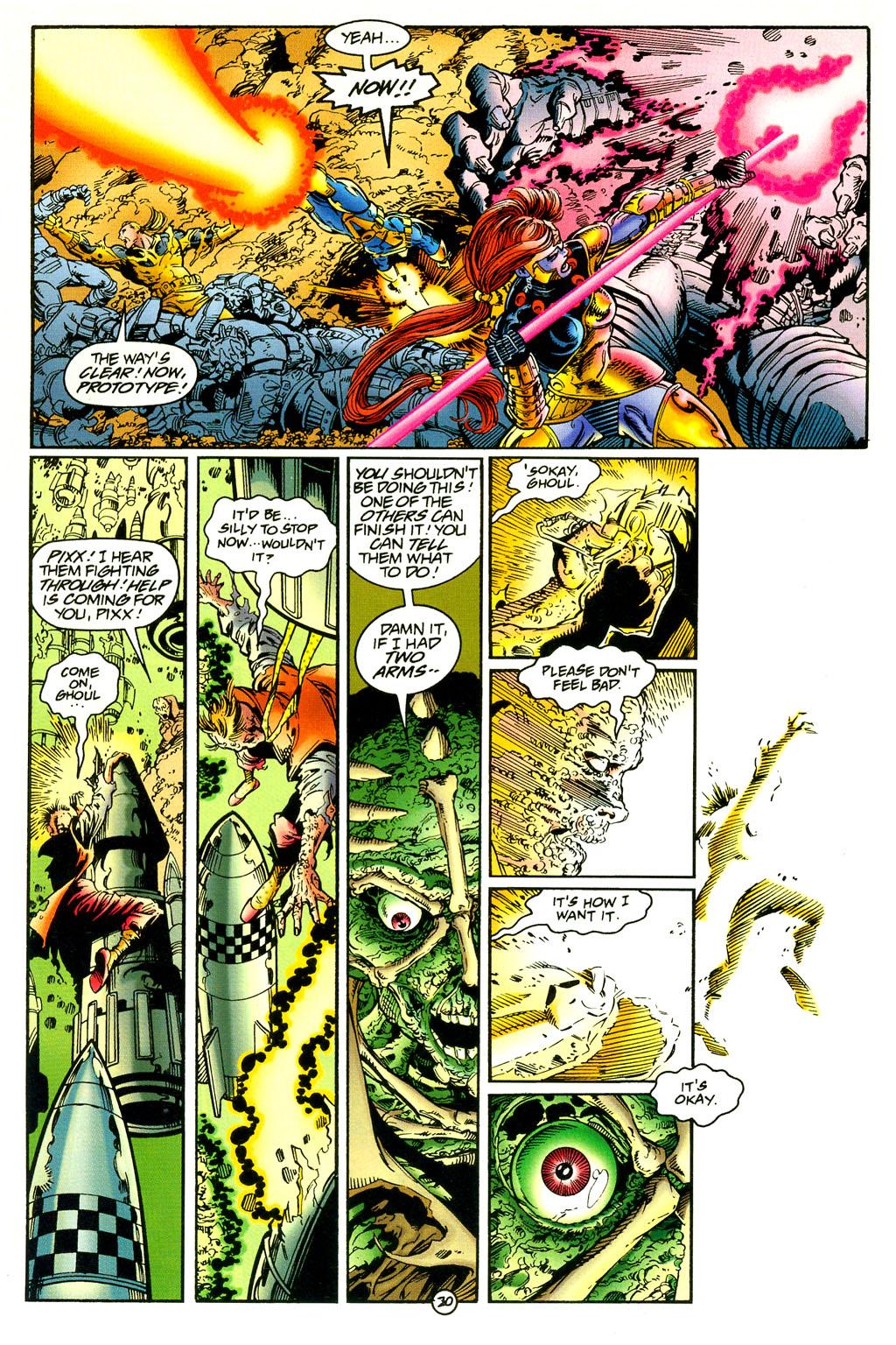 Read online UltraForce (1994) comic -  Issue #5 - 21