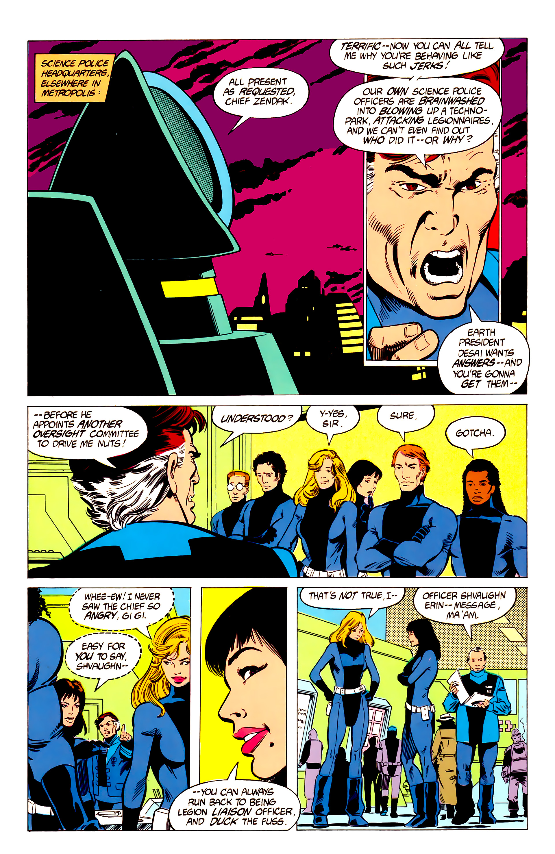 Legion of Super-Heroes (1984) 19 Page 7