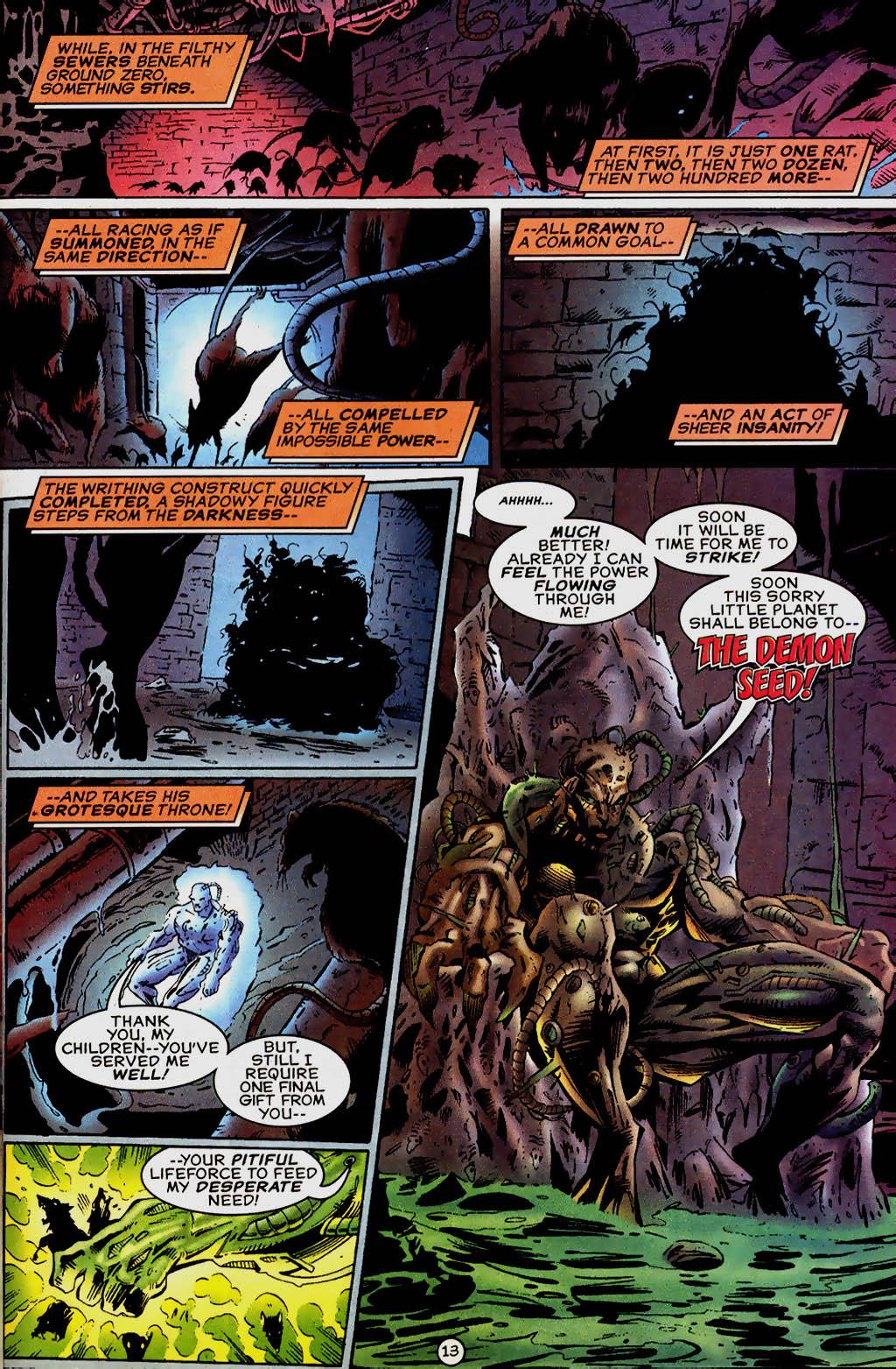 Read online UltraForce (1995) comic -  Issue #13 - 14