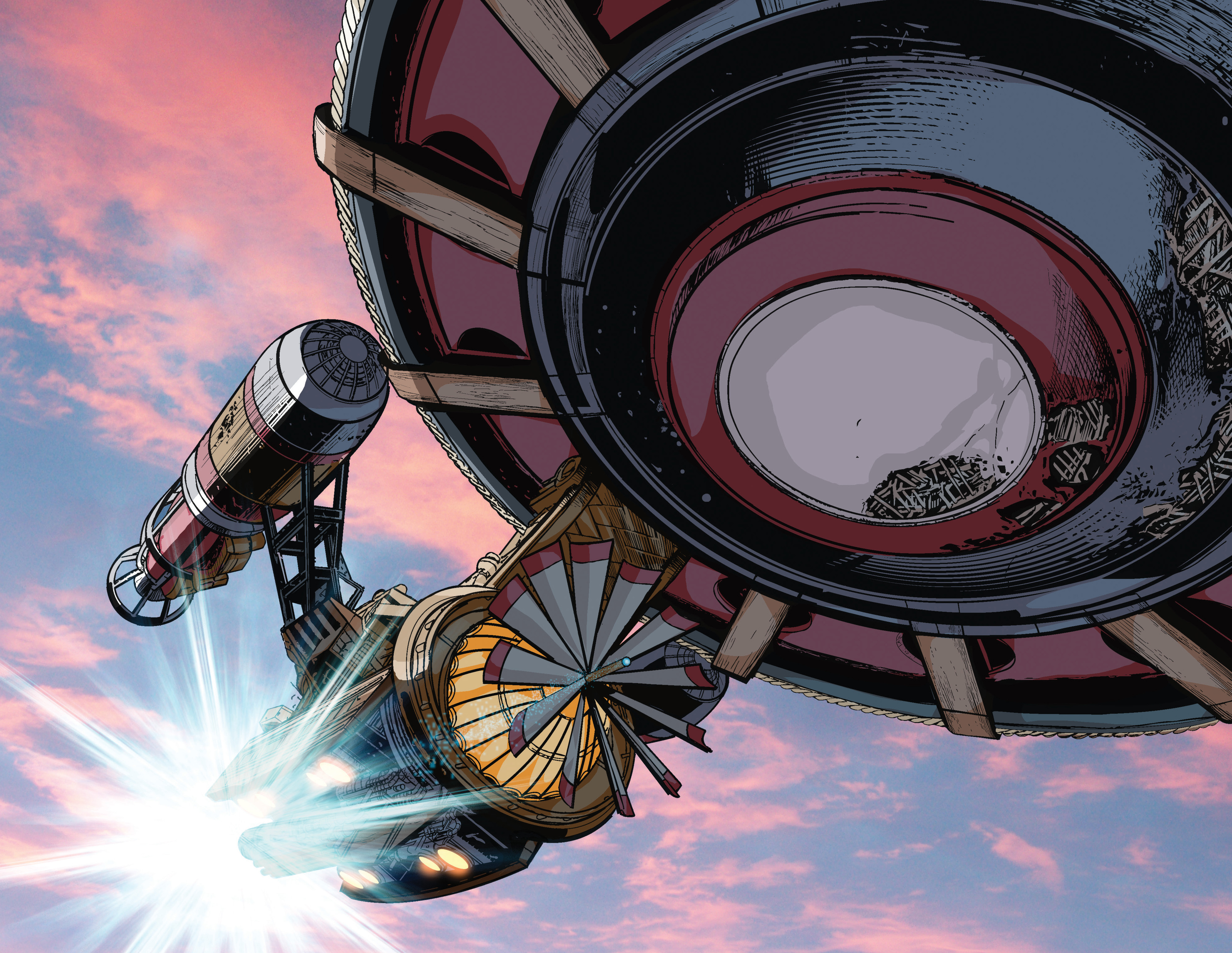 Read online Airship Enterprise: The Infernal Machine comic -  Issue #3 - 14