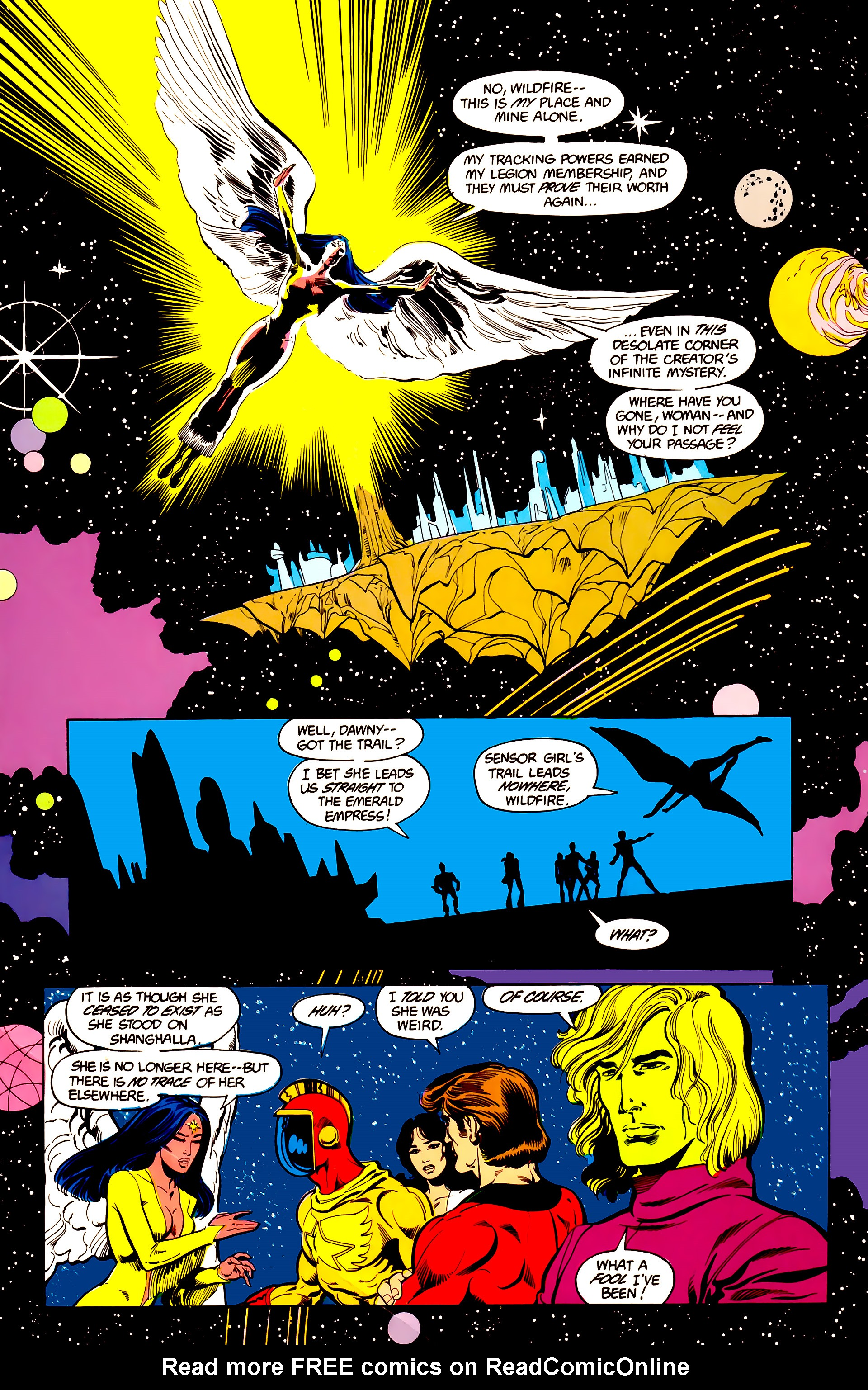Legion of Super-Heroes (1984) 25 Page 17
