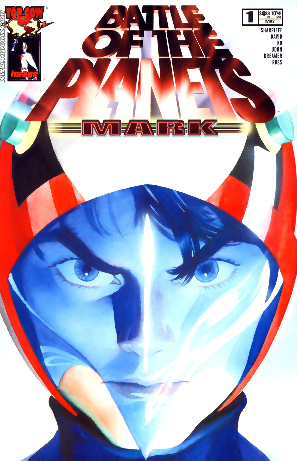 Battle of the Planets: Mark Full Page 1
