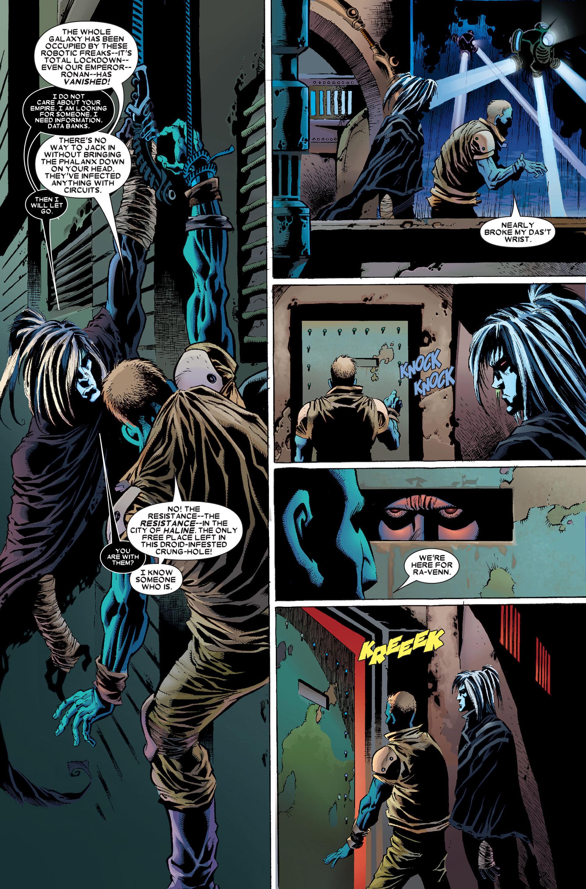 Read online Annihilation: Conquest - Wraith comic -  Issue #1 - 14