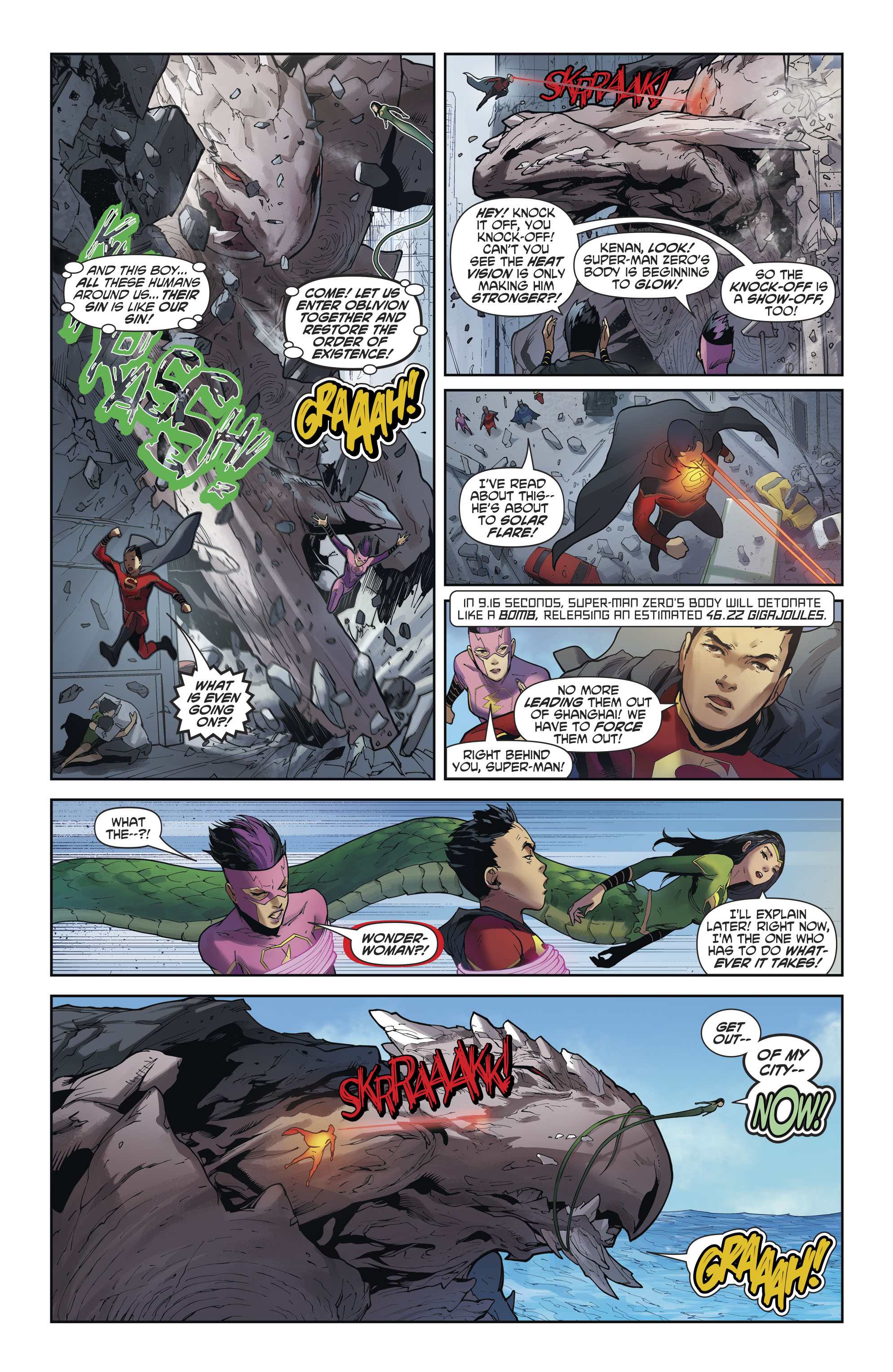Read online New Super-Man comic -  Issue #12 - 10
