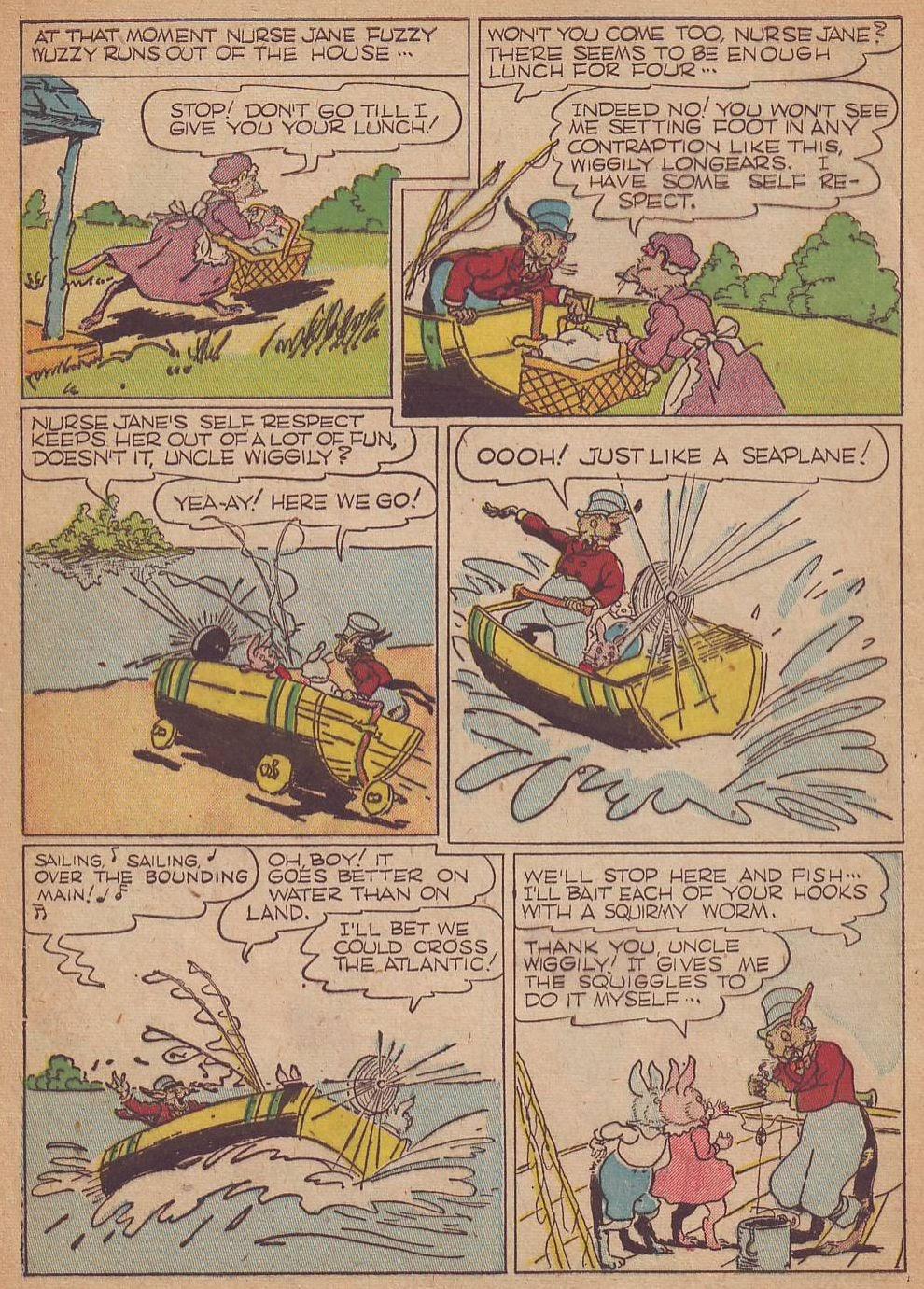 Read online Animal Comics comic -  Issue #8 - 4