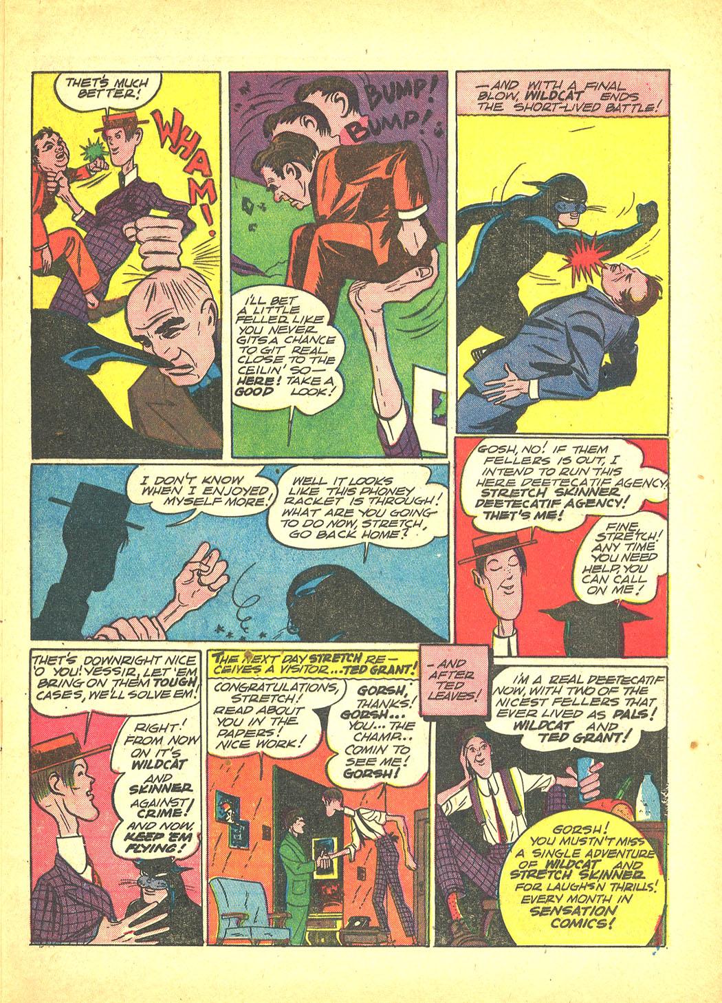 Read online Sensation (Mystery) Comics comic -  Issue #4 - 65