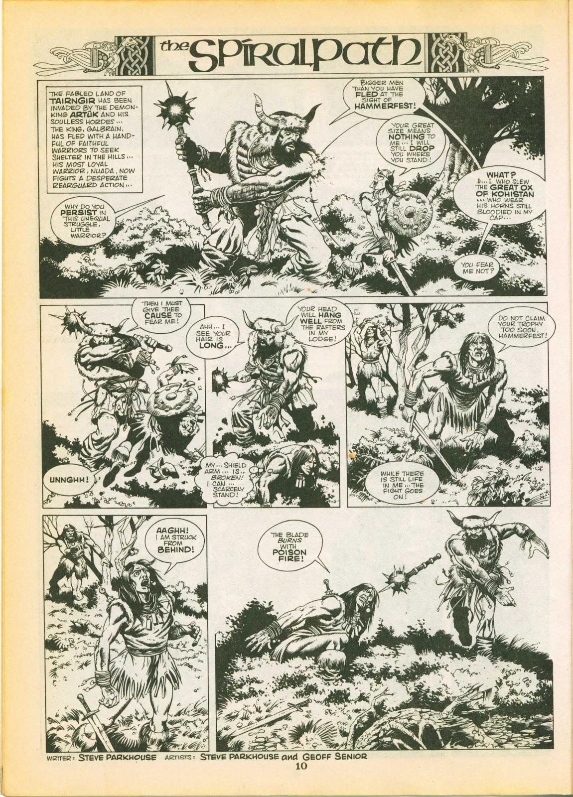 Warrior Issue #3 #4 - English 10
