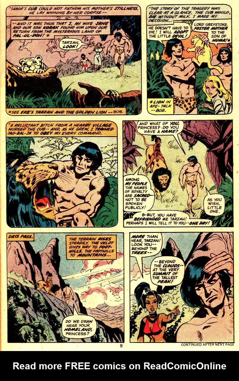 Read online Tarzan (1977) comic -  Issue # _Annual 2 - 8