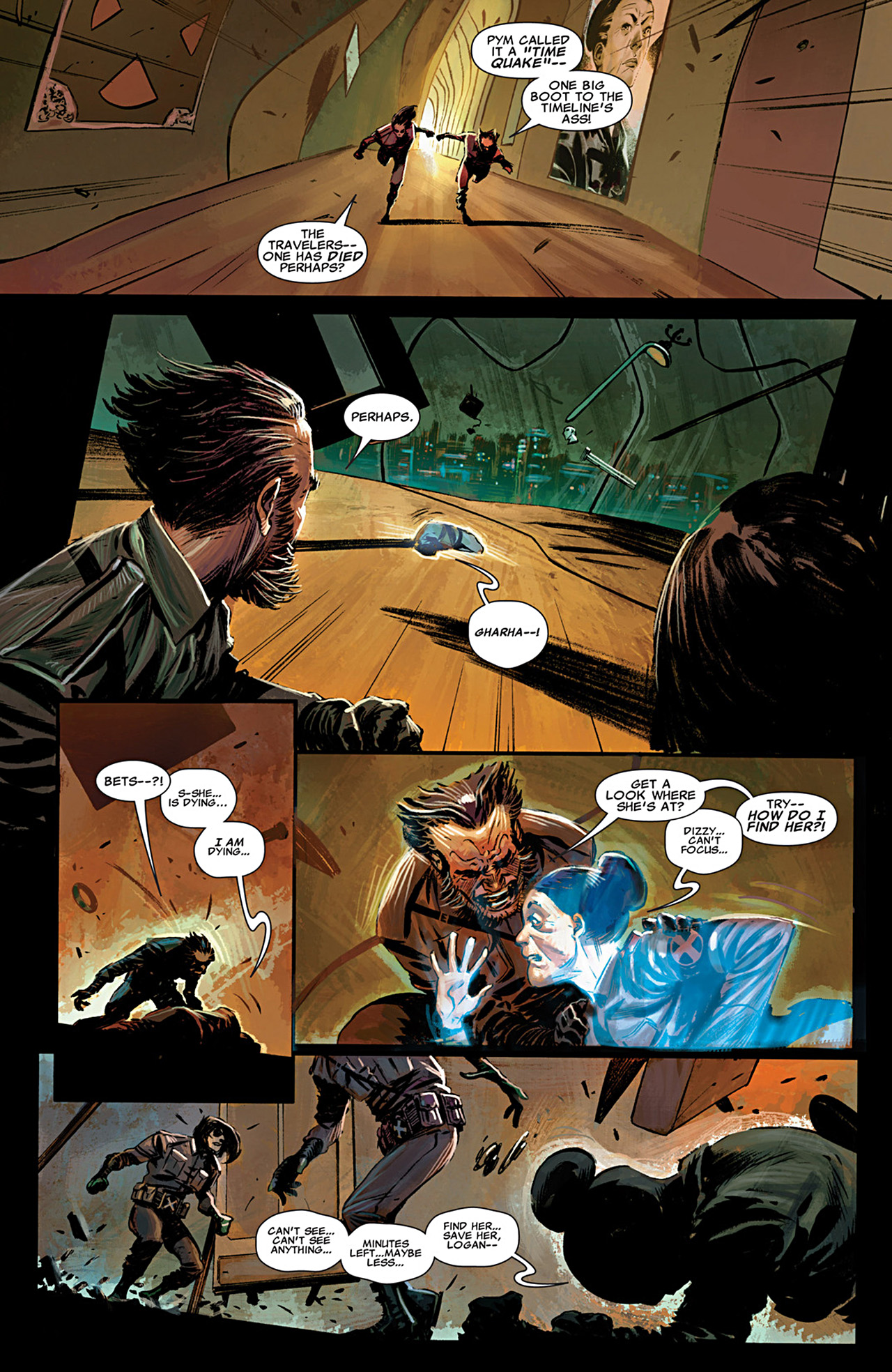 Read online Uncanny X-Force (2010) comic -  Issue #29 - 3
