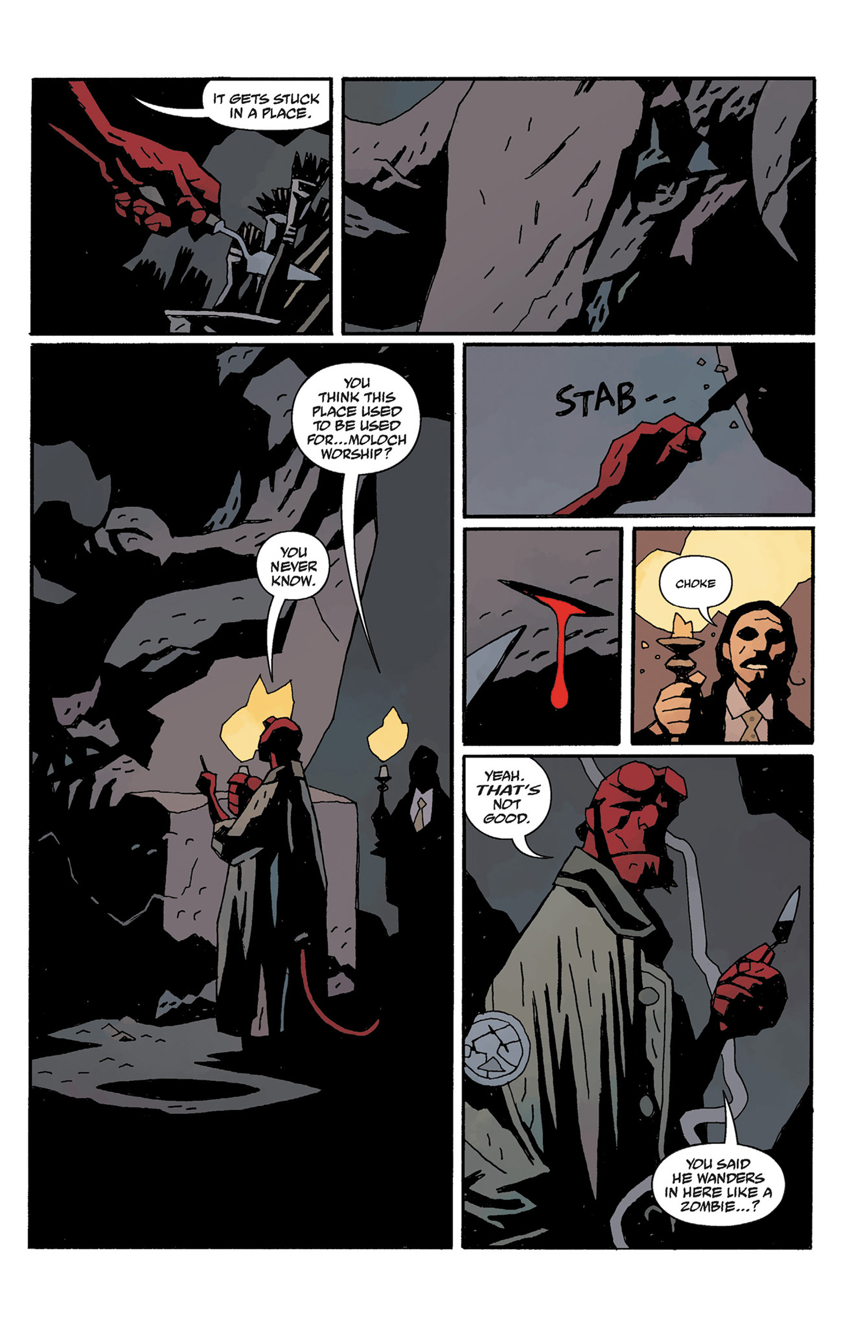 Read online Hellboy: The Crooked Man and Others comic -  Issue # TPB - 119