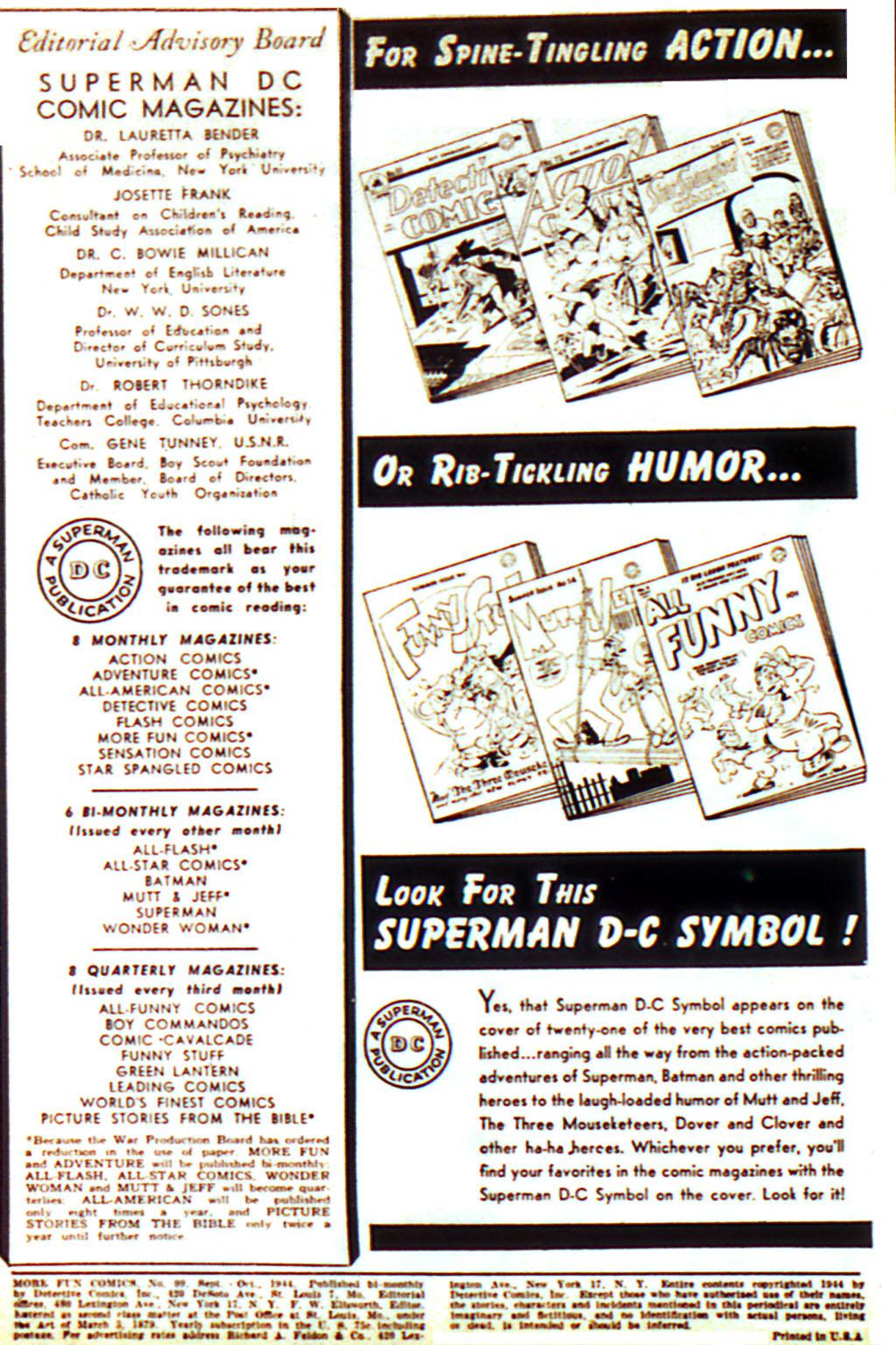 More Fun Comics 99 Page 2