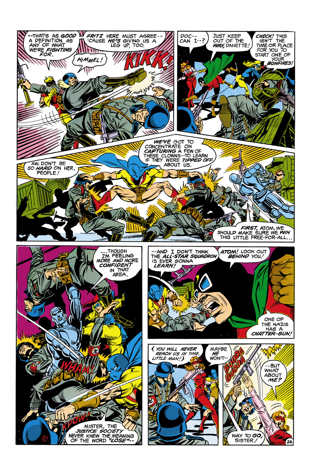 Read online All-Star Squadron comic -  Issue #5 - 25