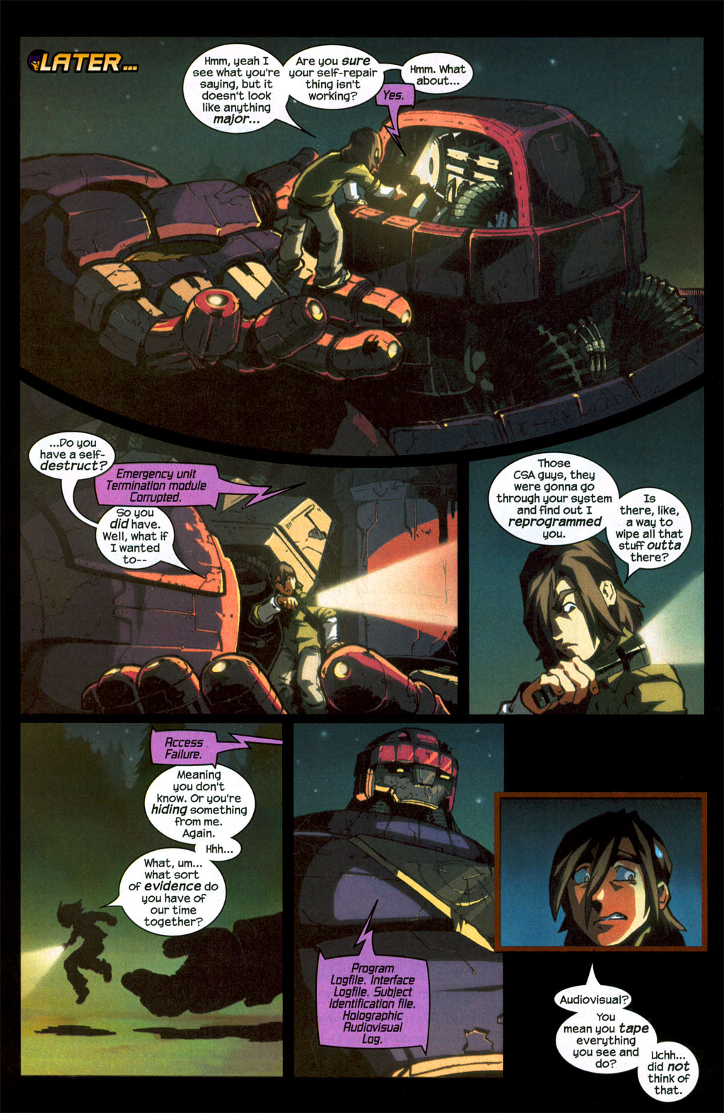 Read online Sentinel (2006) comic -  Issue #1 - 19