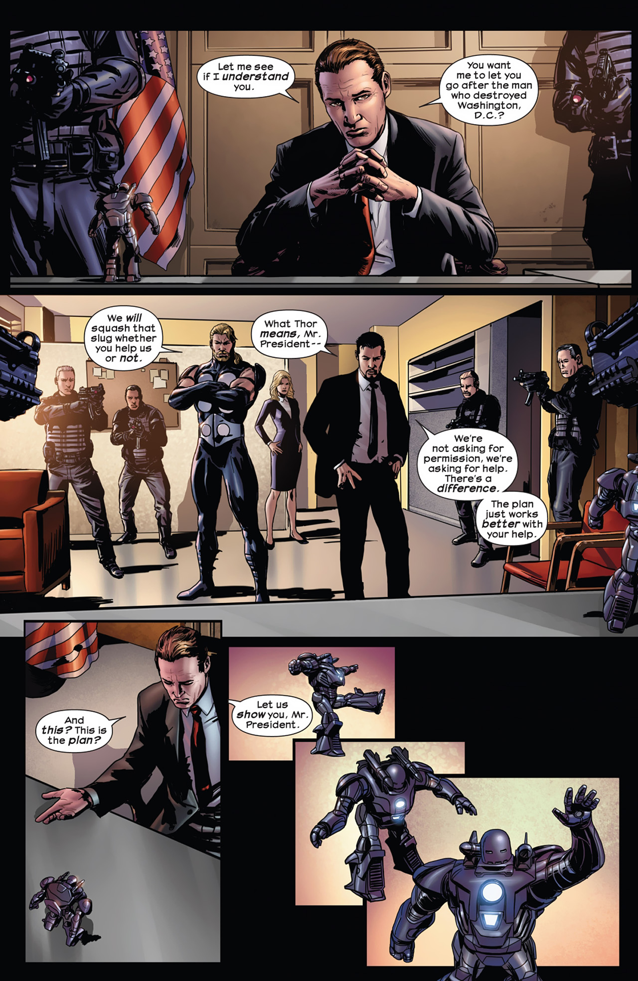 Read online Ultimate Comics Ultimates comic -  Issue #11 - 14
