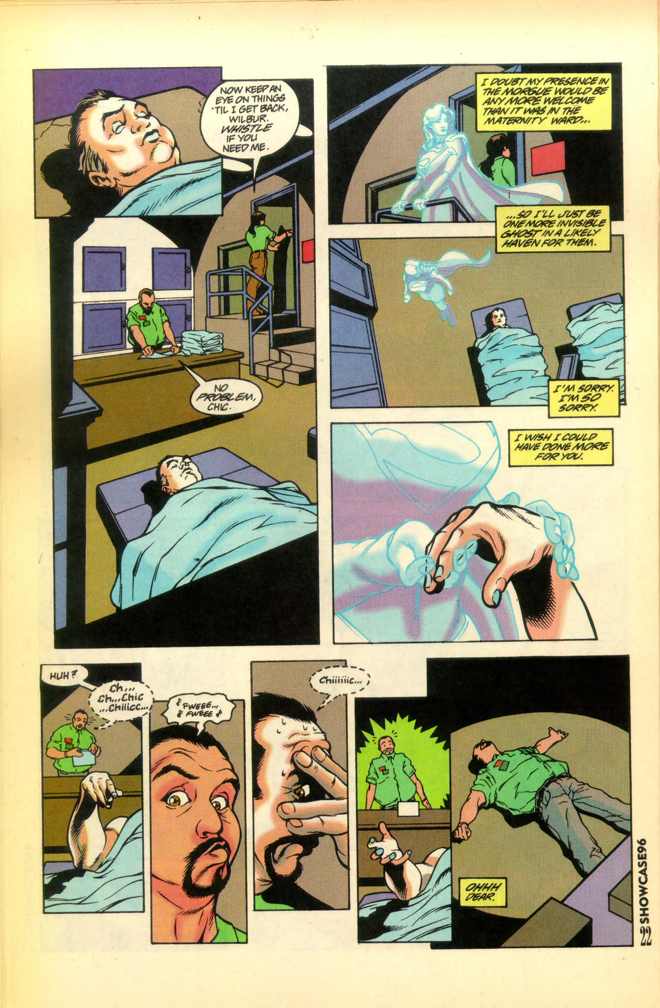 Read online Showcase '96 comic -  Issue #8 - 23