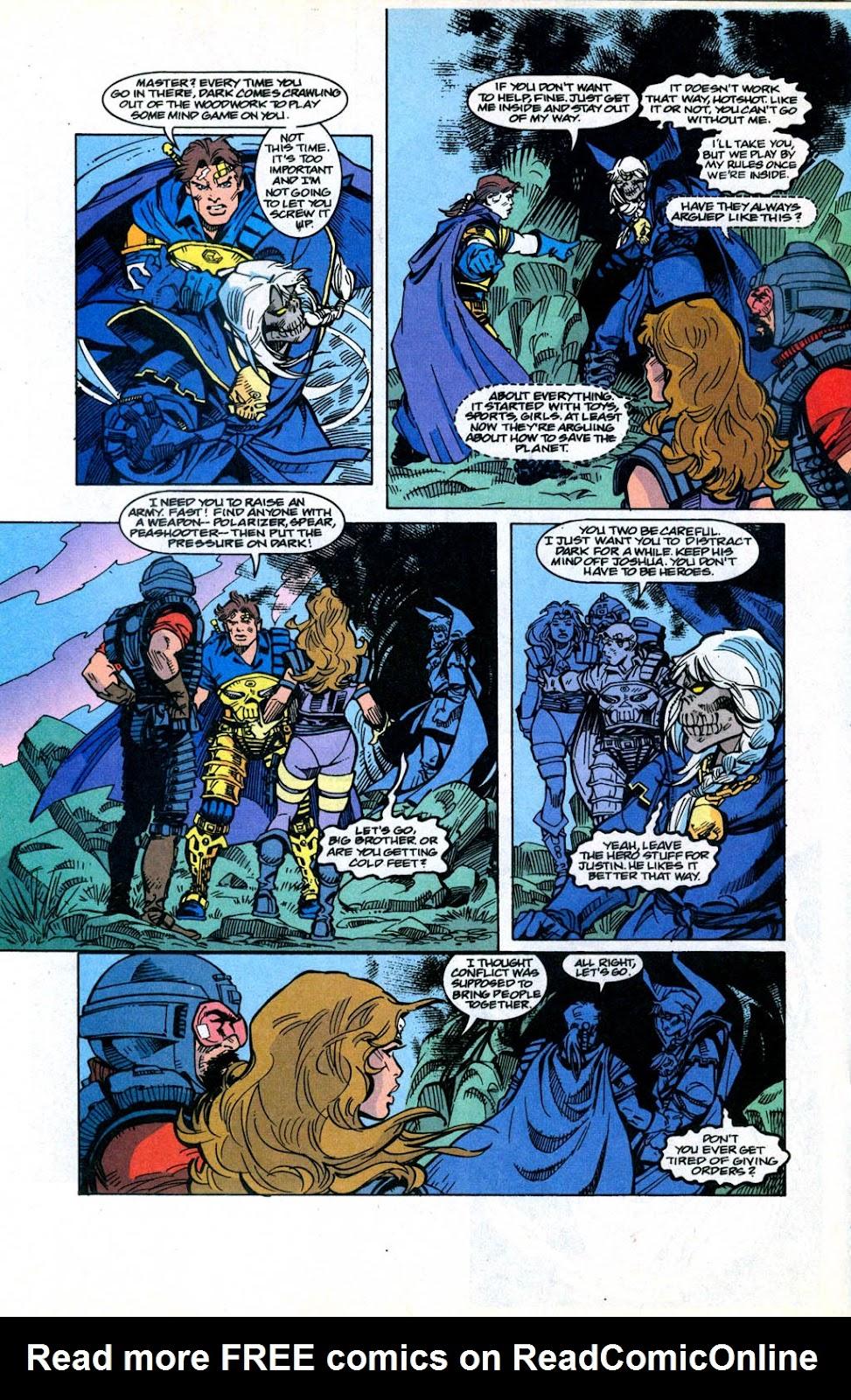 Skeleton Warriors Issue #3 #3 - English 13