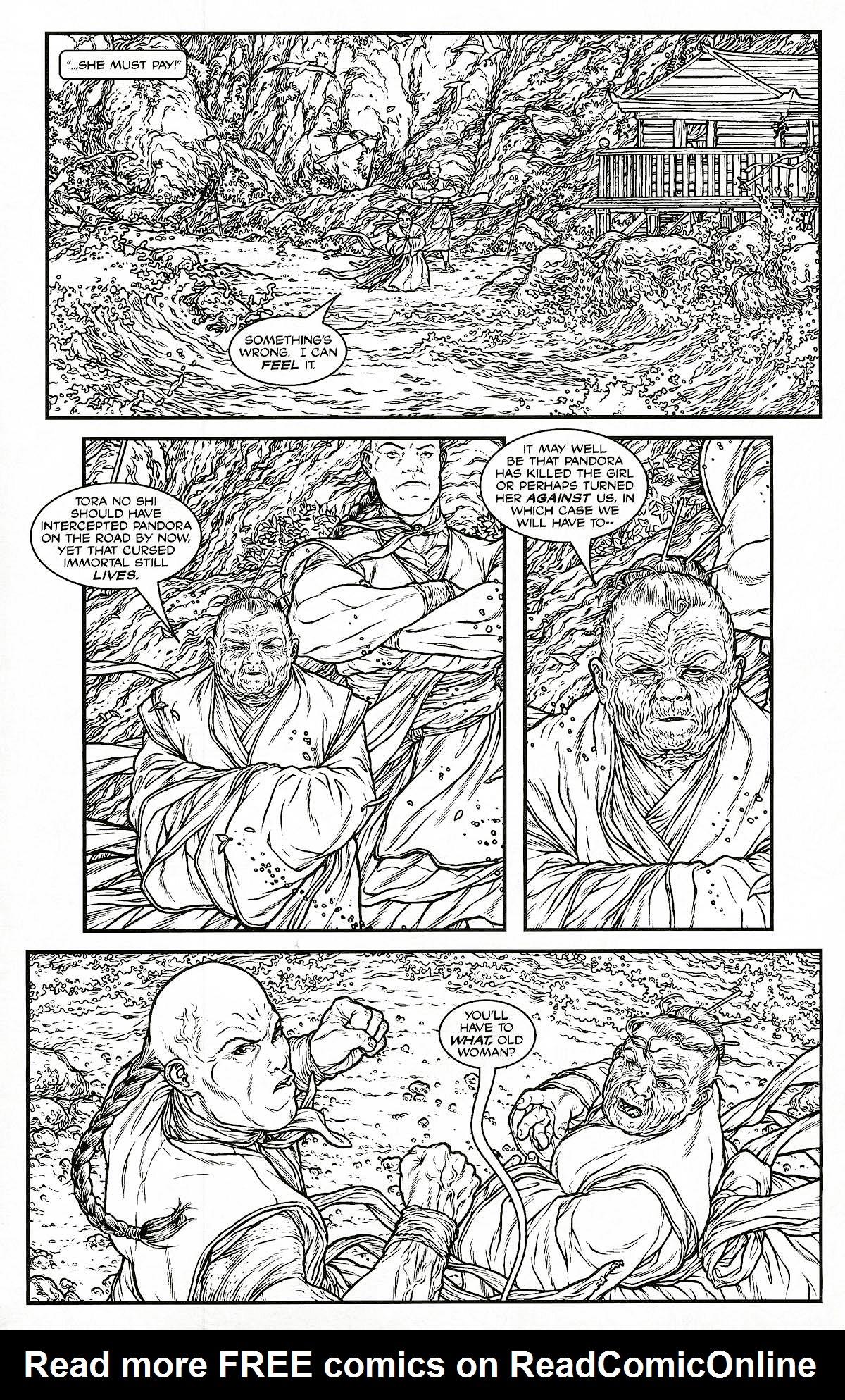 Read online Shi: Pandora's Box comic -  Issue #1 - 11