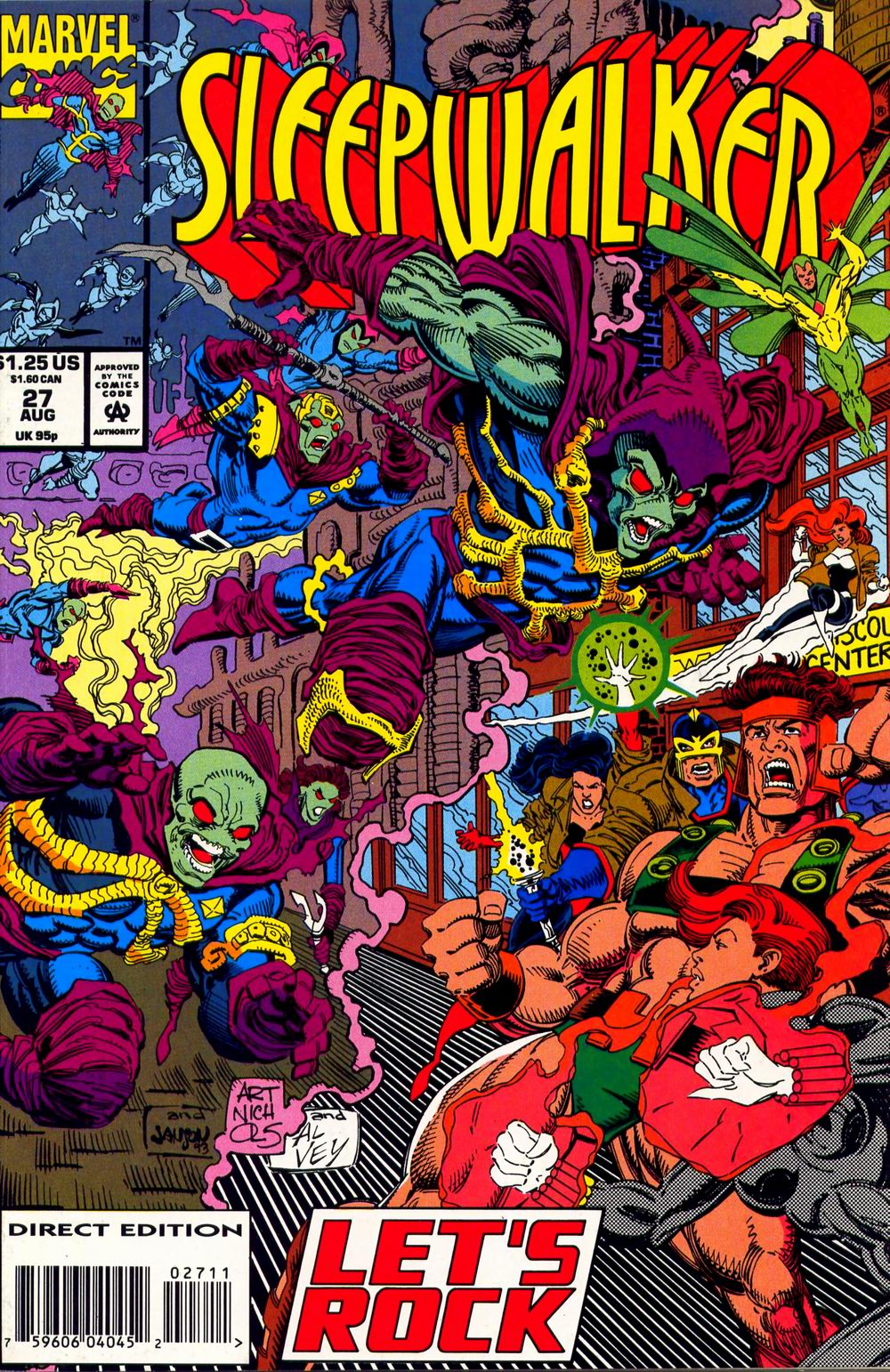 Read online Sleepwalker comic -  Issue #27 - 1