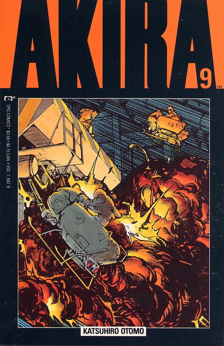 Read online Akira comic -  Issue #9 - 1