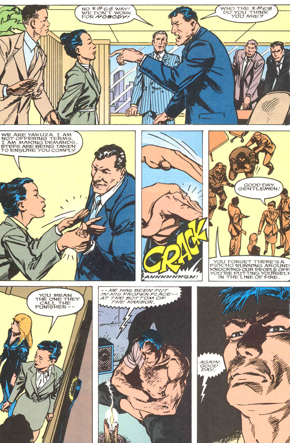 The Punisher Movie Special issue Full - Page 36