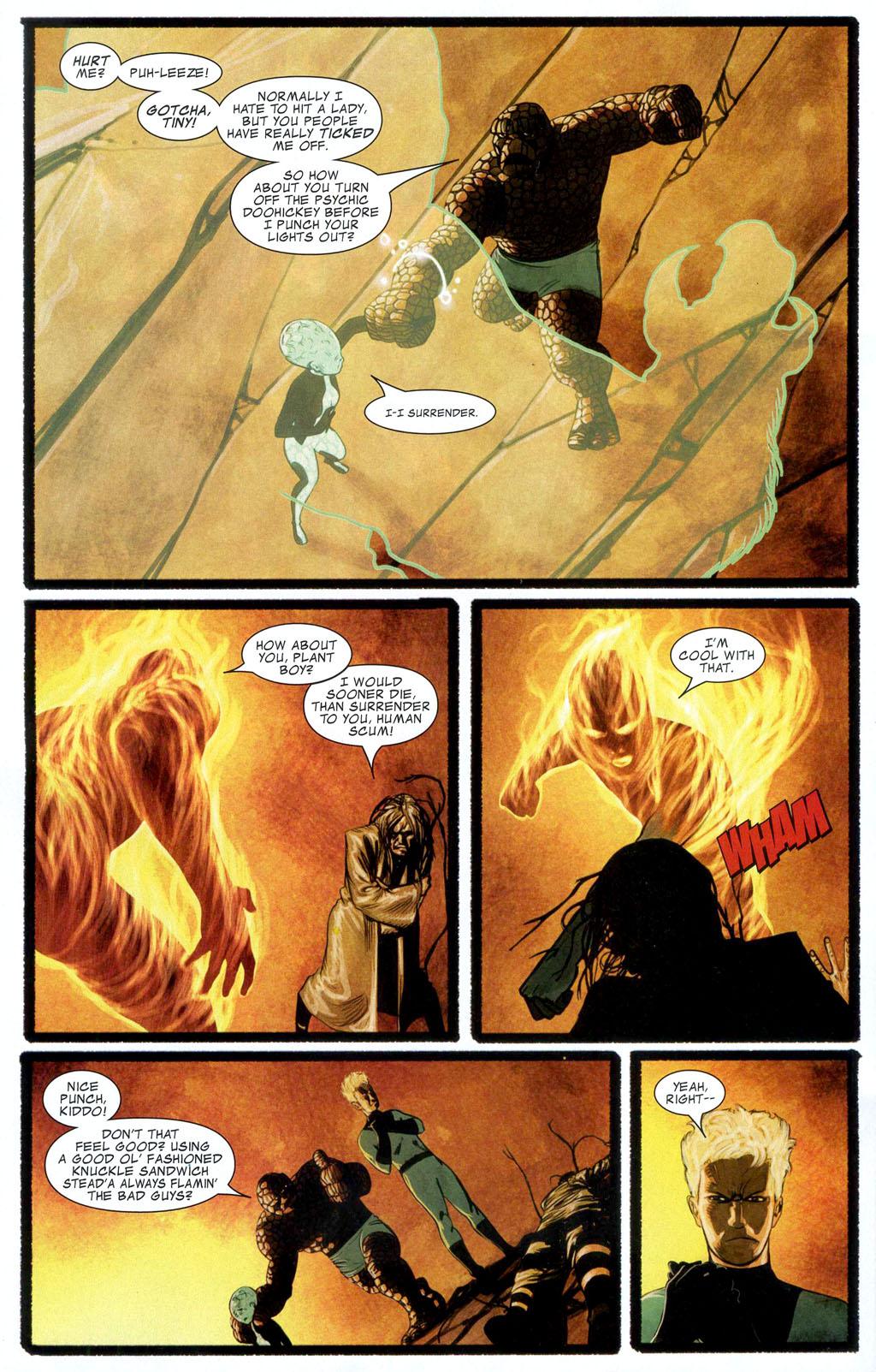 Read online Silent War comic -  Issue #1 - 14