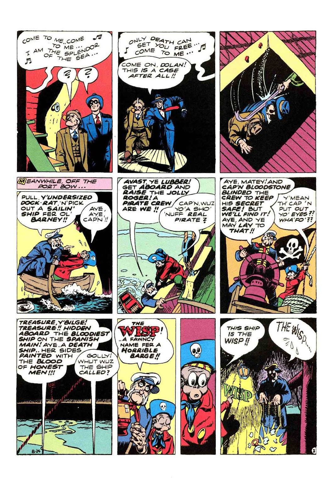 Read online Will Eisner's The Spirit Archives comic -  Issue # TPB 3 (Part 1) - 60