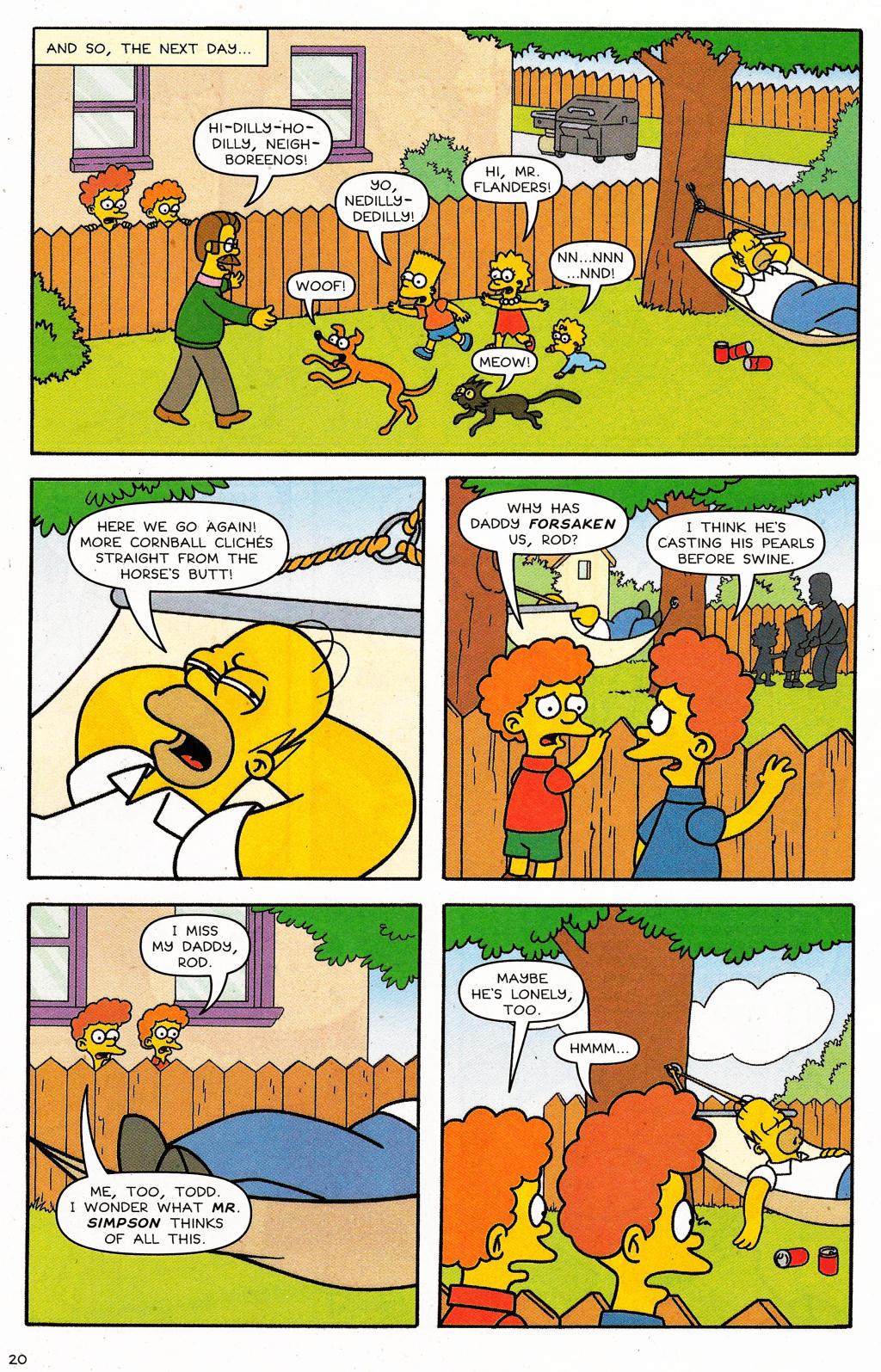 Read online Simpsons Comics comic -  Issue #124 - 16