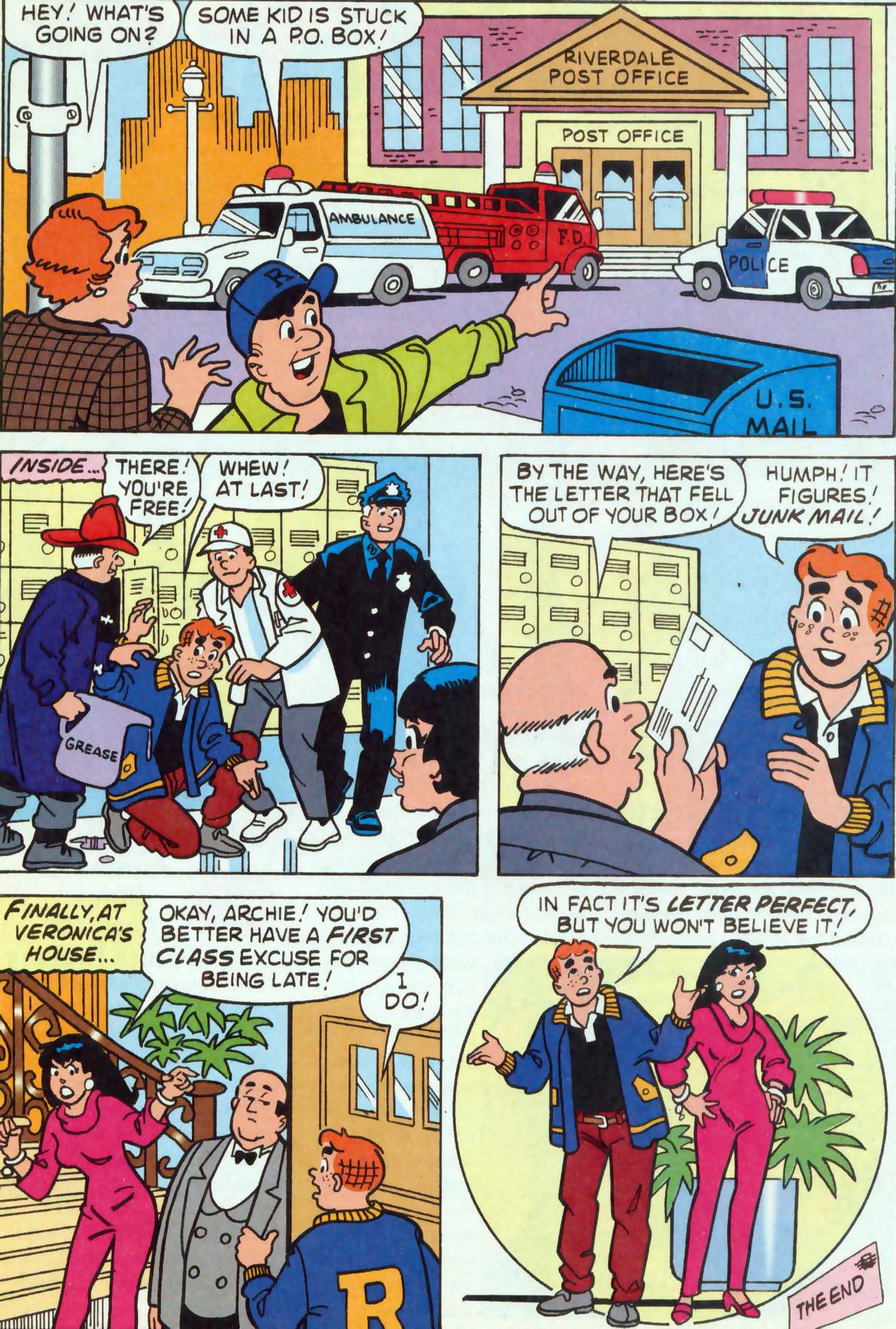 Read online Archie (1960) comic -  Issue #459 - 18