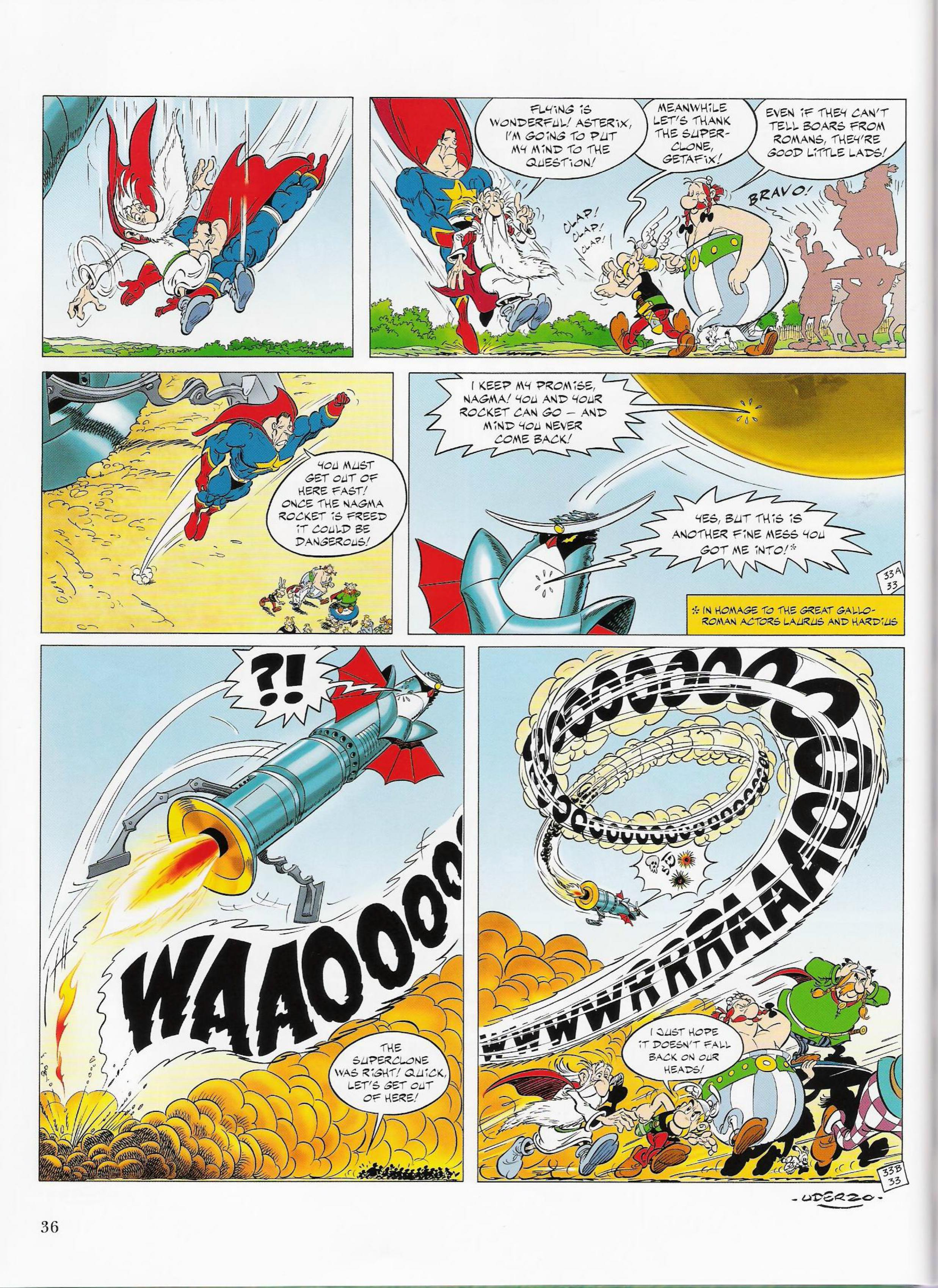 Read online Asterix comic -  Issue #33 - 36