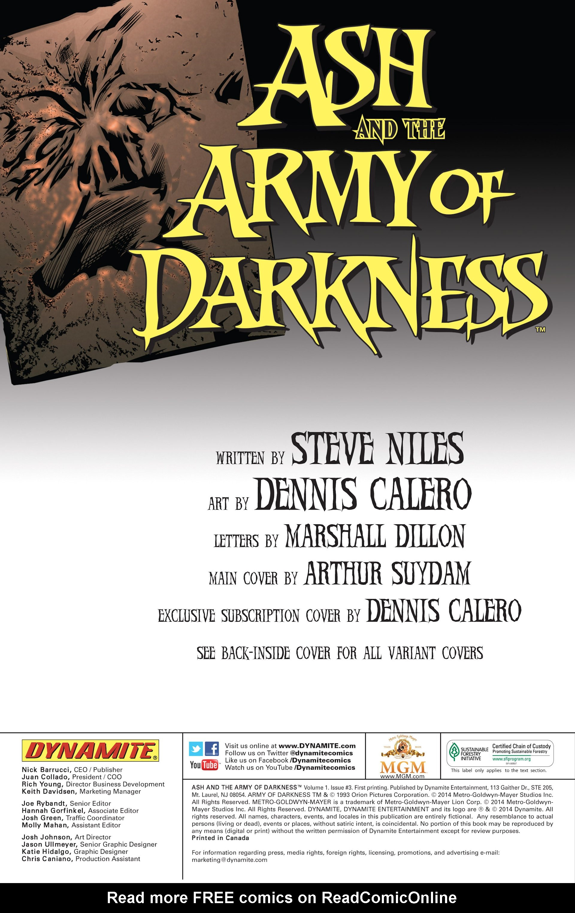Read online Ash and the Army of Darkness comic -  Issue #3 - 2