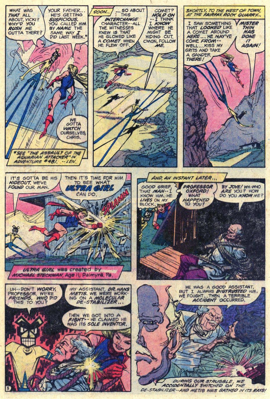Read online Adventure Comics (1938) comic -  Issue #482 - 6