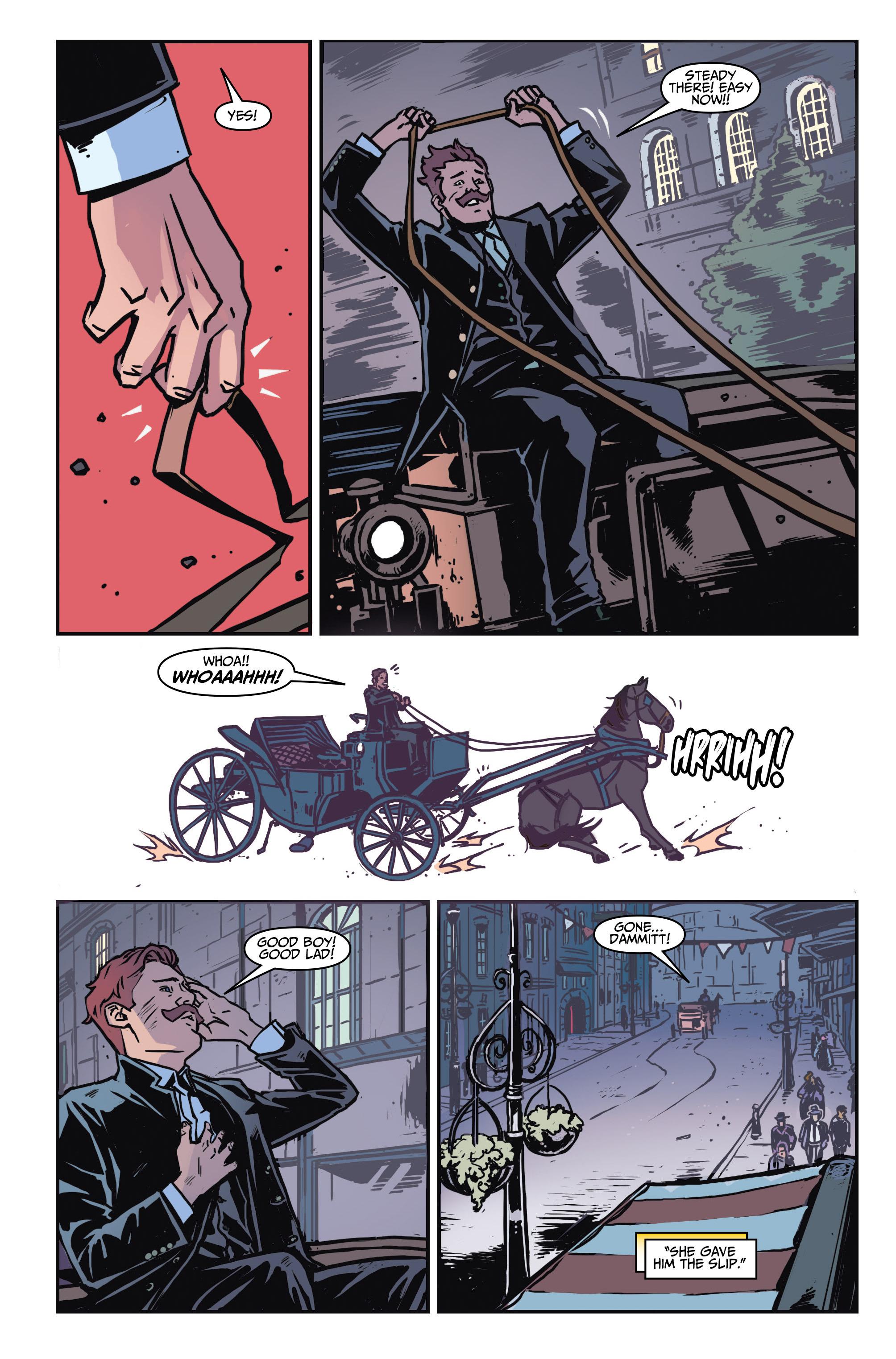 Read online Assassin's Creed: Locus comic -  Issue #4 - 11
