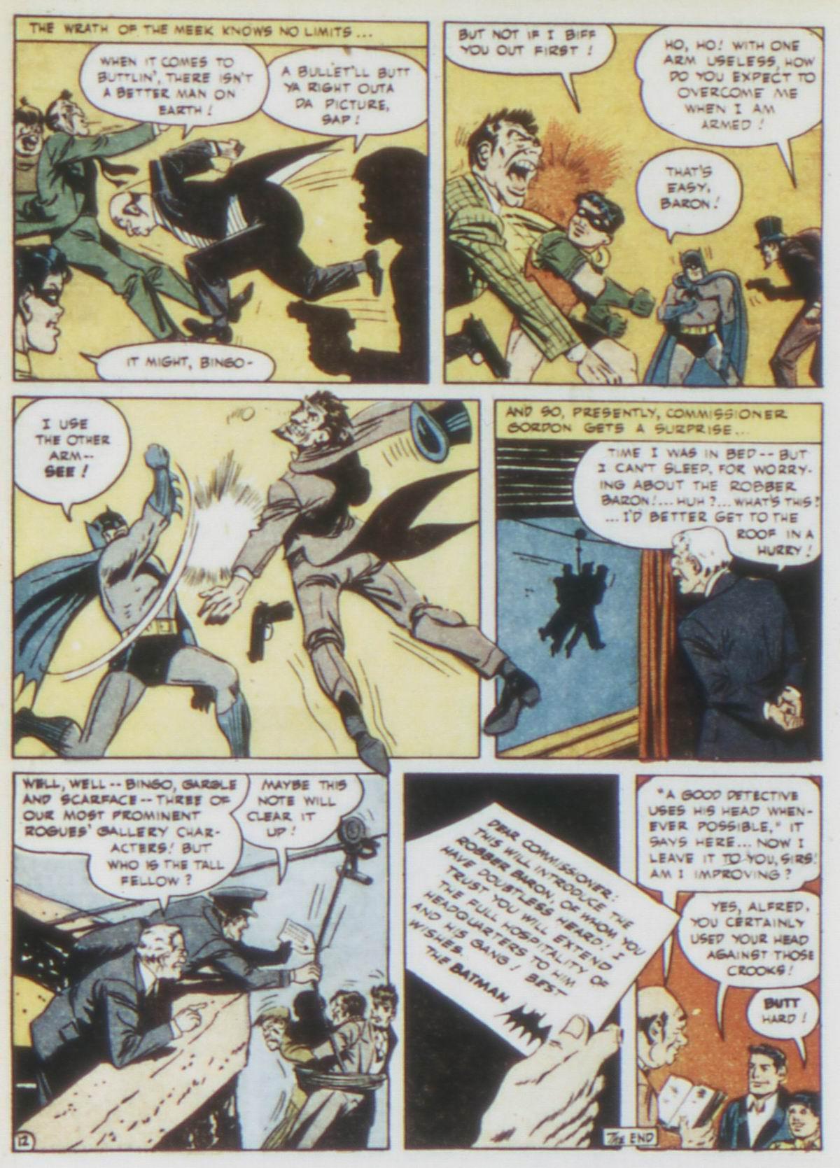 Read online Detective Comics (1937) comic -  Issue #75 - 14