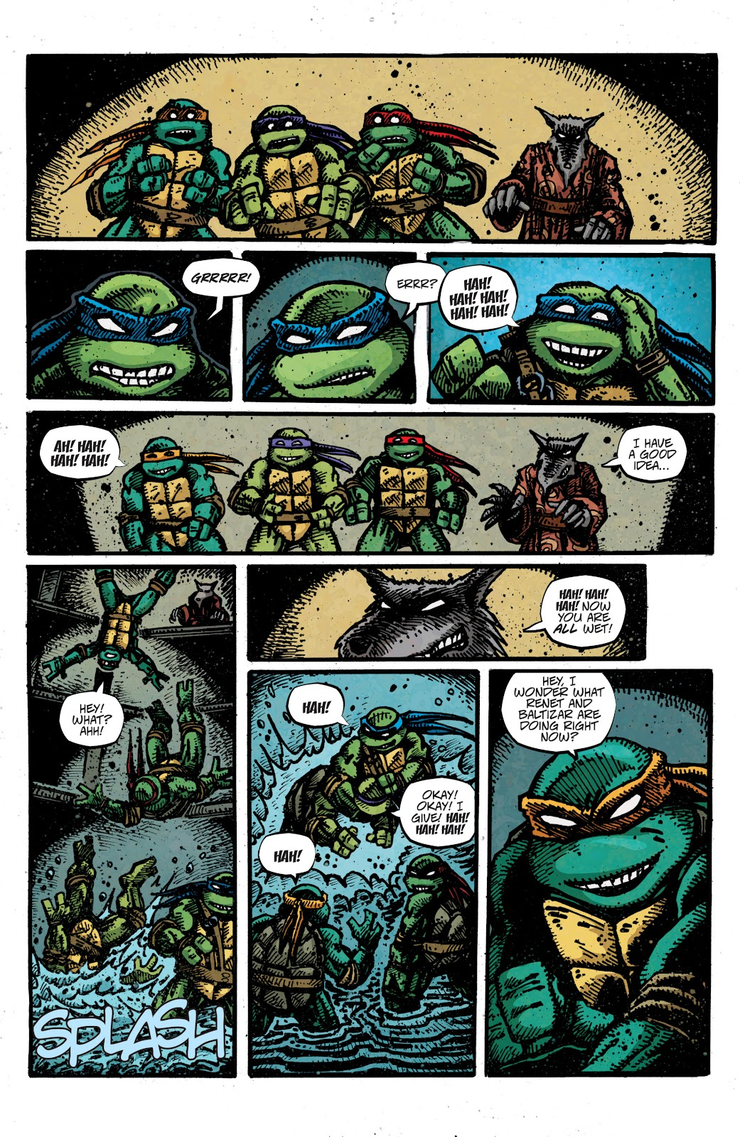 Read online Teenage Mutant Ninja Turtles: The IDW Collection comic -  Issue # TPB 4 (Part 3) - 9