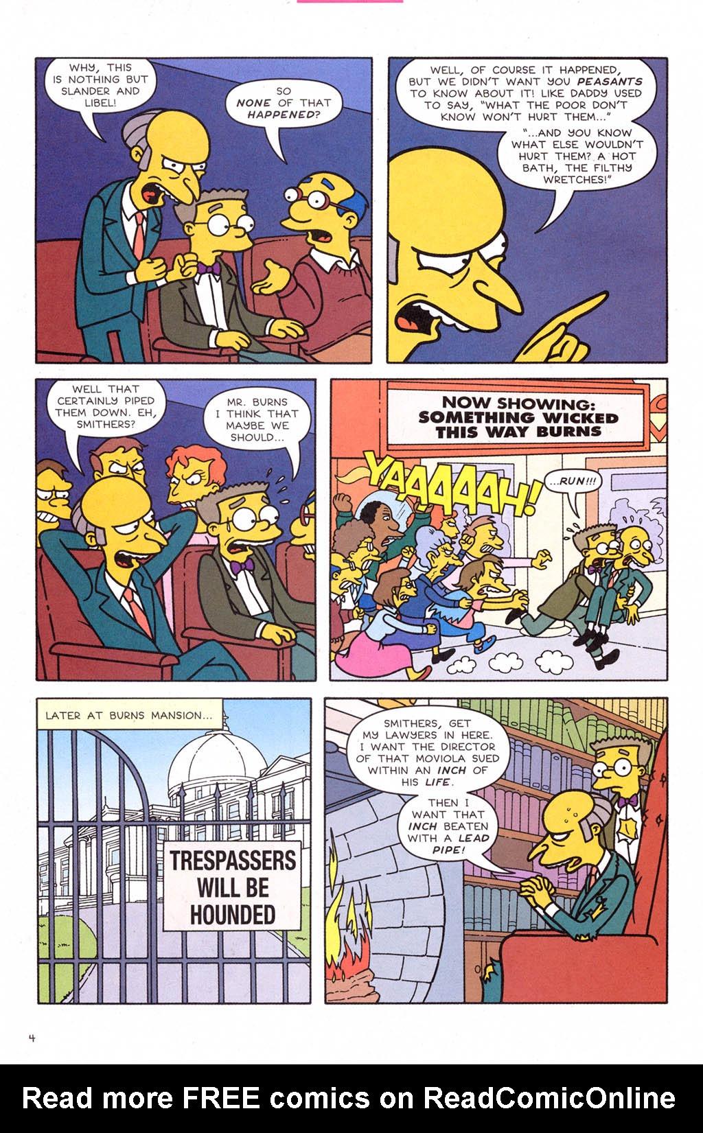 Read online Simpsons Comics comic -  Issue #109 - 5