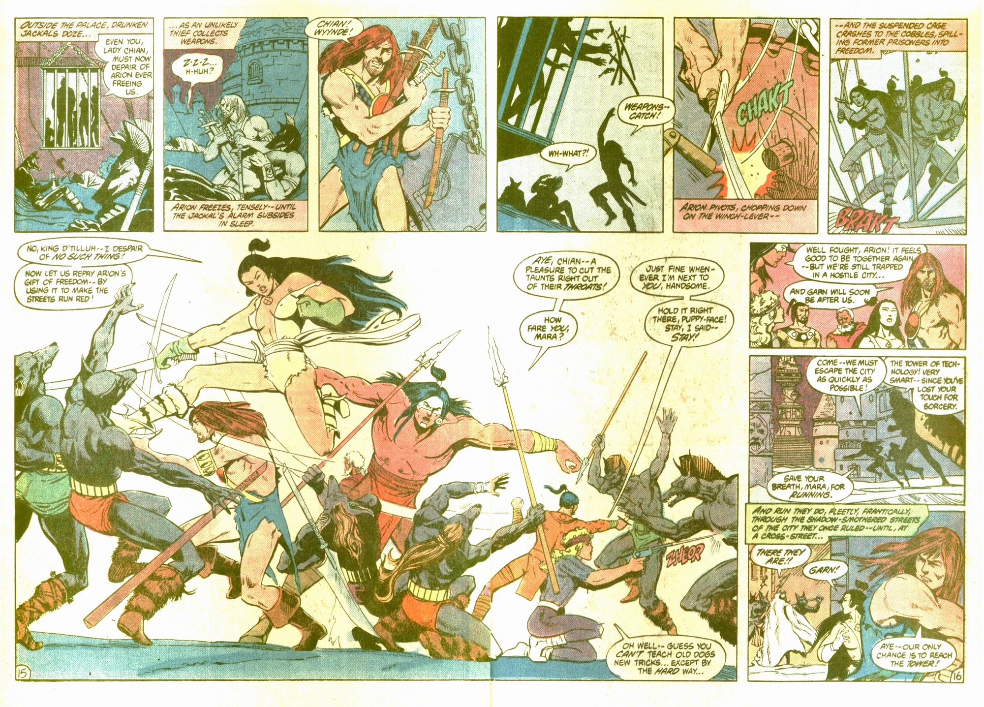 Read online Arion, Lord of Atlantis comic -  Issue #5 - 16