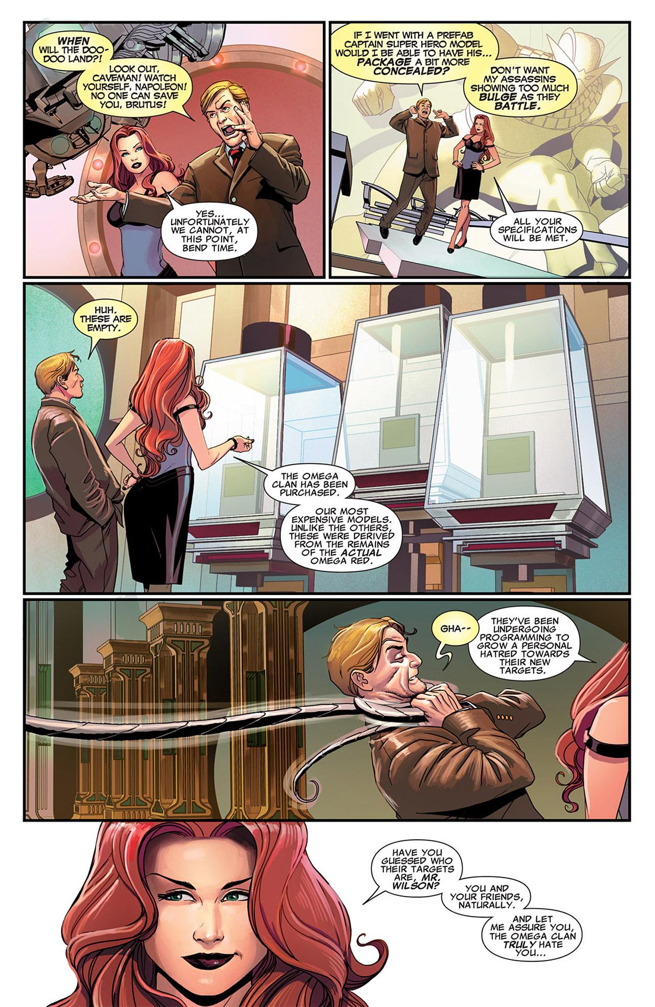 Uncanny X-Force (2010) #25 #27 - English 9