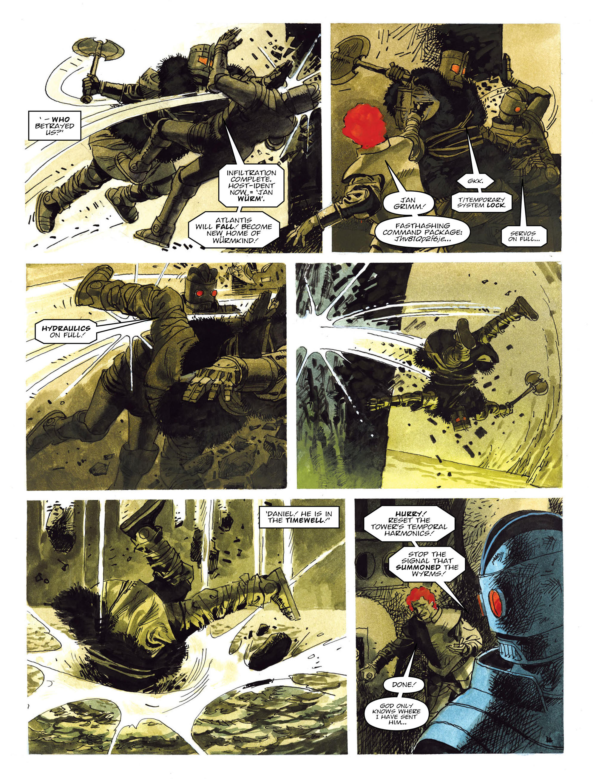 Read online 2000 AD comic -  Issue #2019 - 23