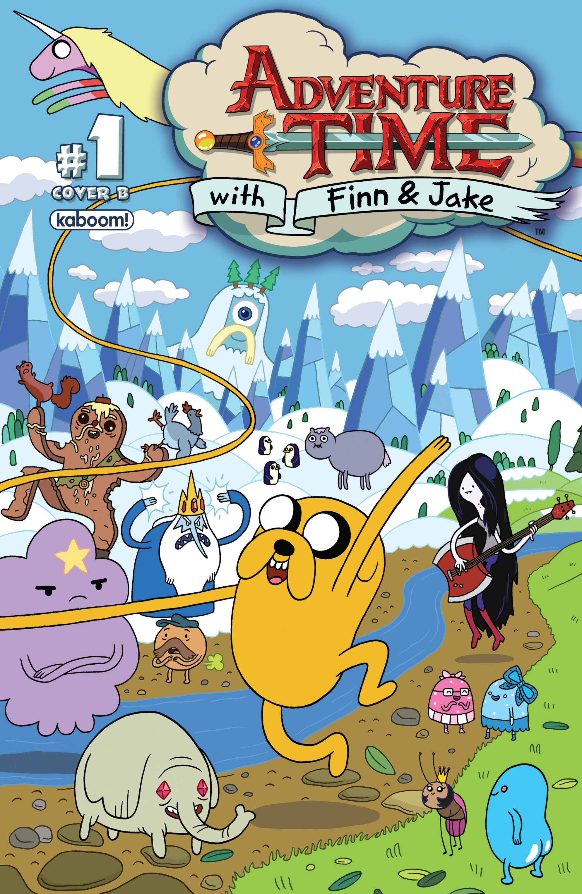 Read online Adventure Time comic -  Issue #1 - 2