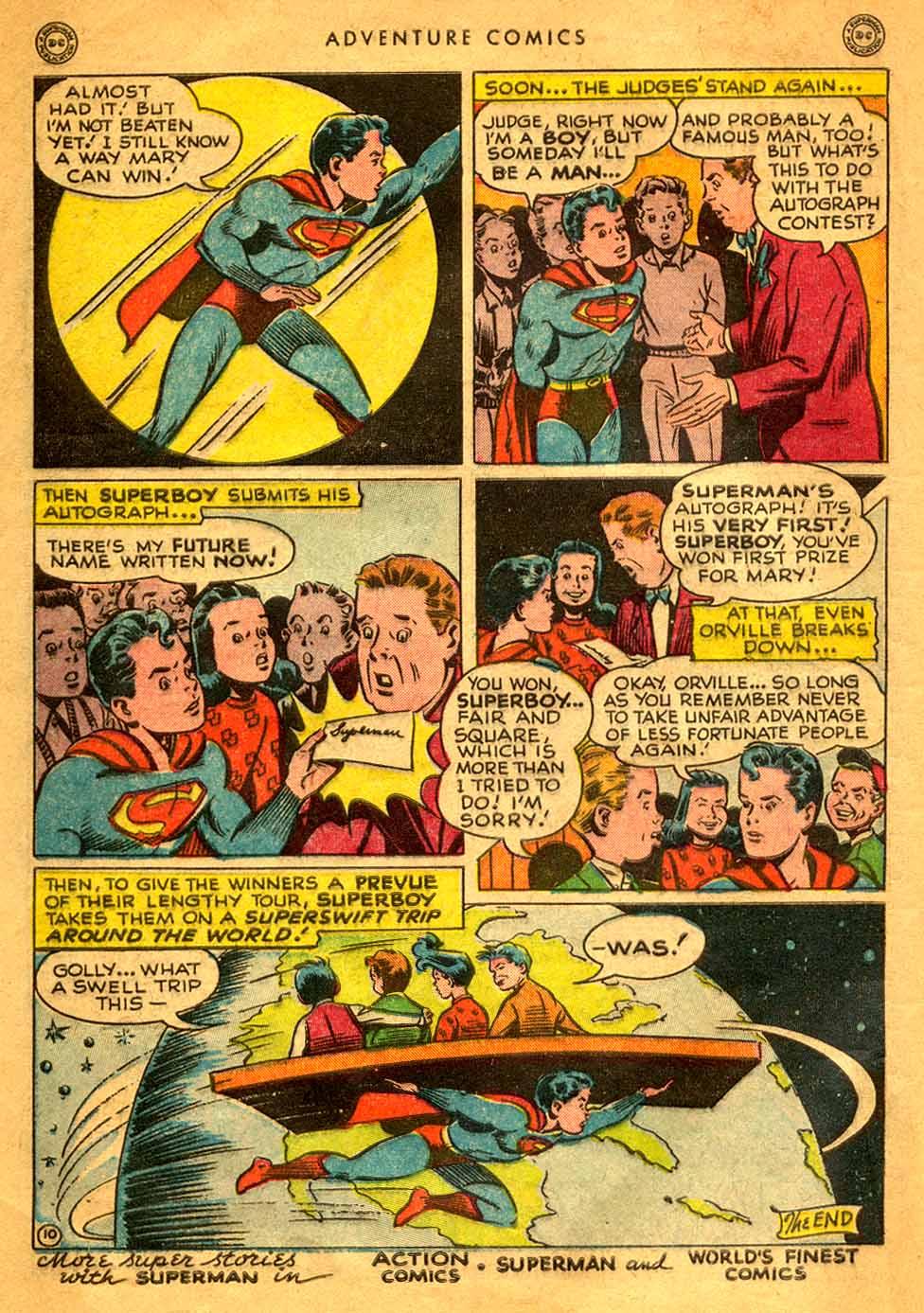 Read online Adventure Comics (1938) comic -  Issue #121 - 12