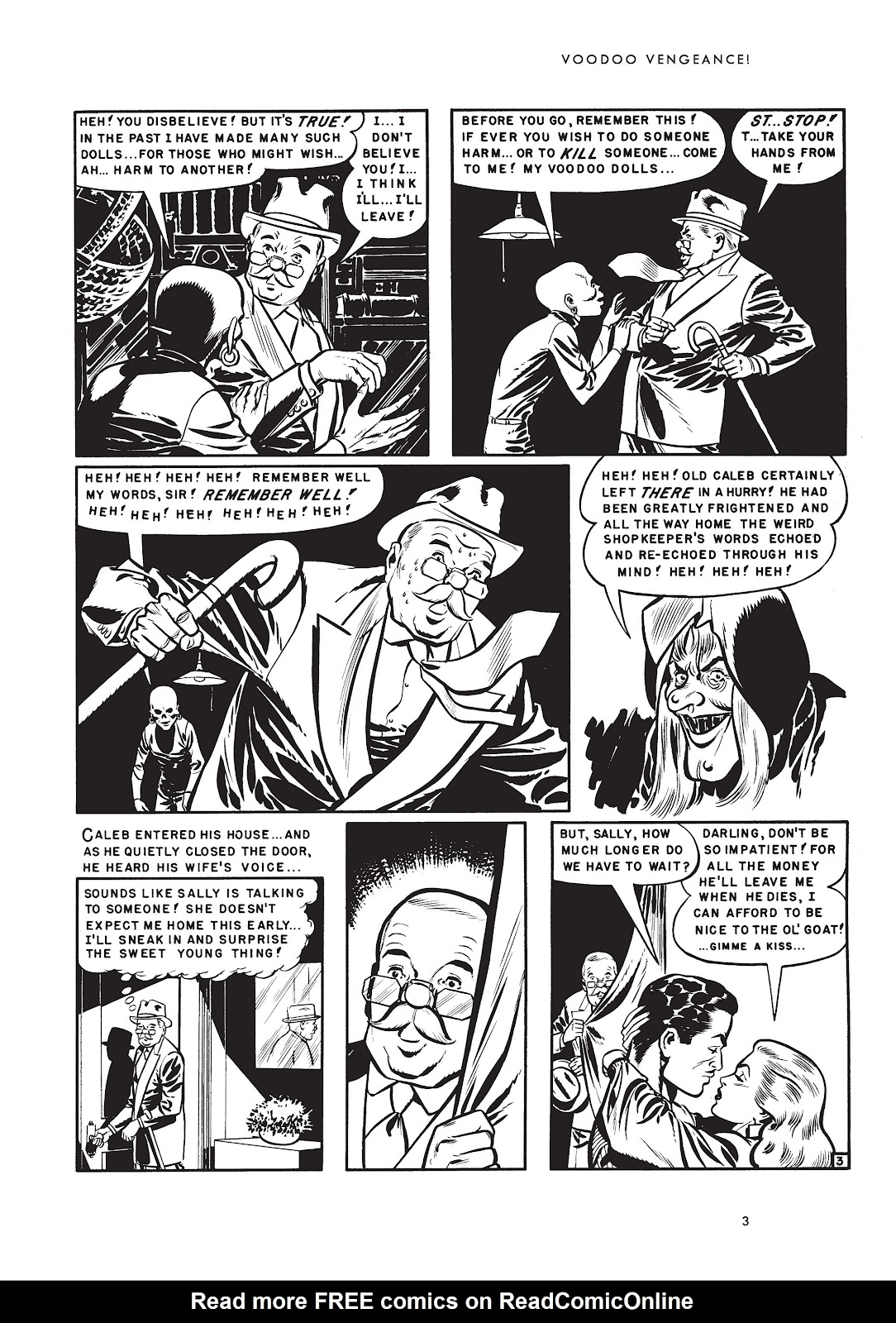 Read online Voodoo Vengeance and Other Stories comic -  Issue # TPB (Part 1) - 20