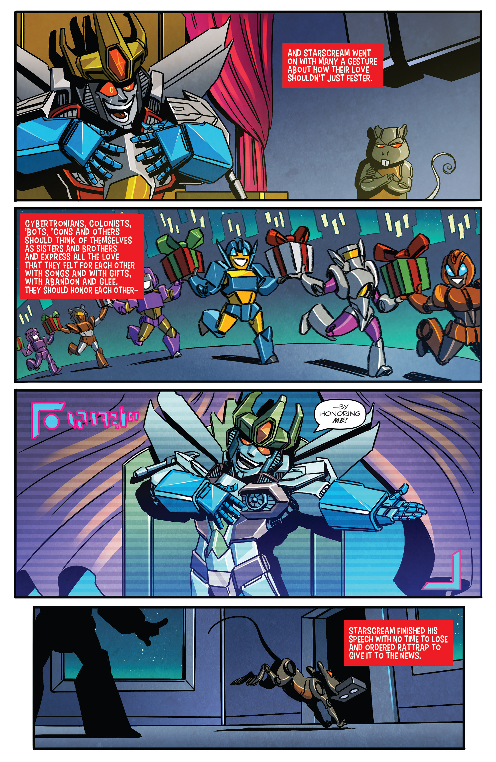 Read online Transformers: Holiday Special comic -  Issue # Full - 6