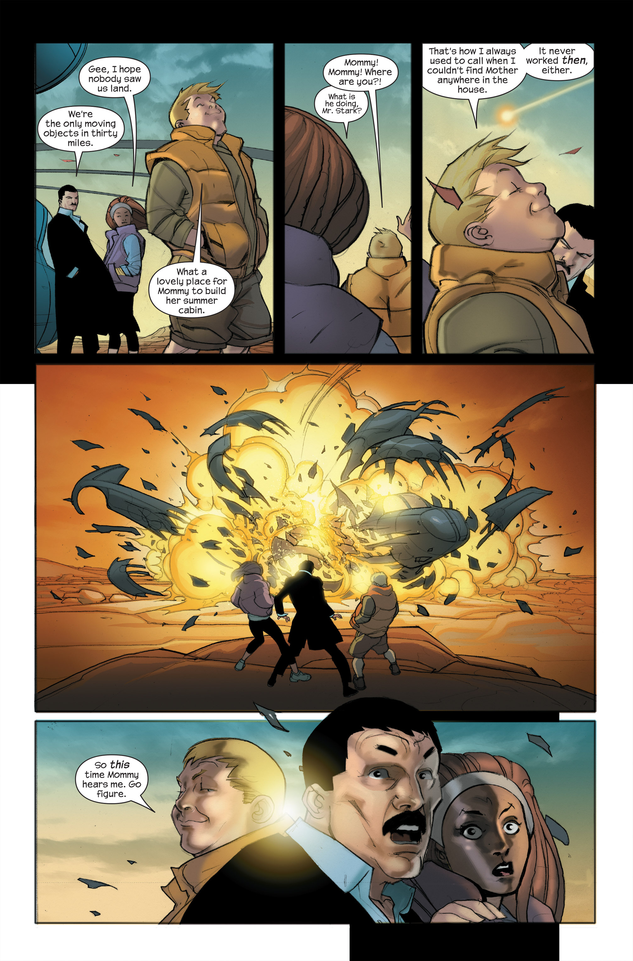 Read online Ultimate Iron Man II comic -  Issue #5 - 4
