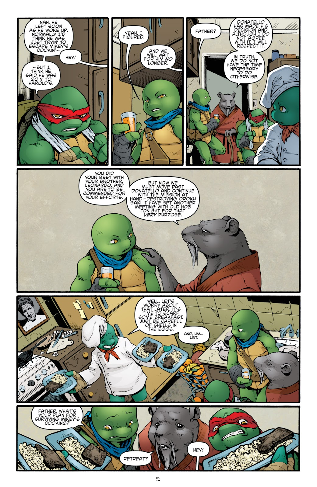 Read online Teenage Mutant Ninja Turtles: The IDW Collection comic -  Issue # TPB 5 (Part 2) - 29