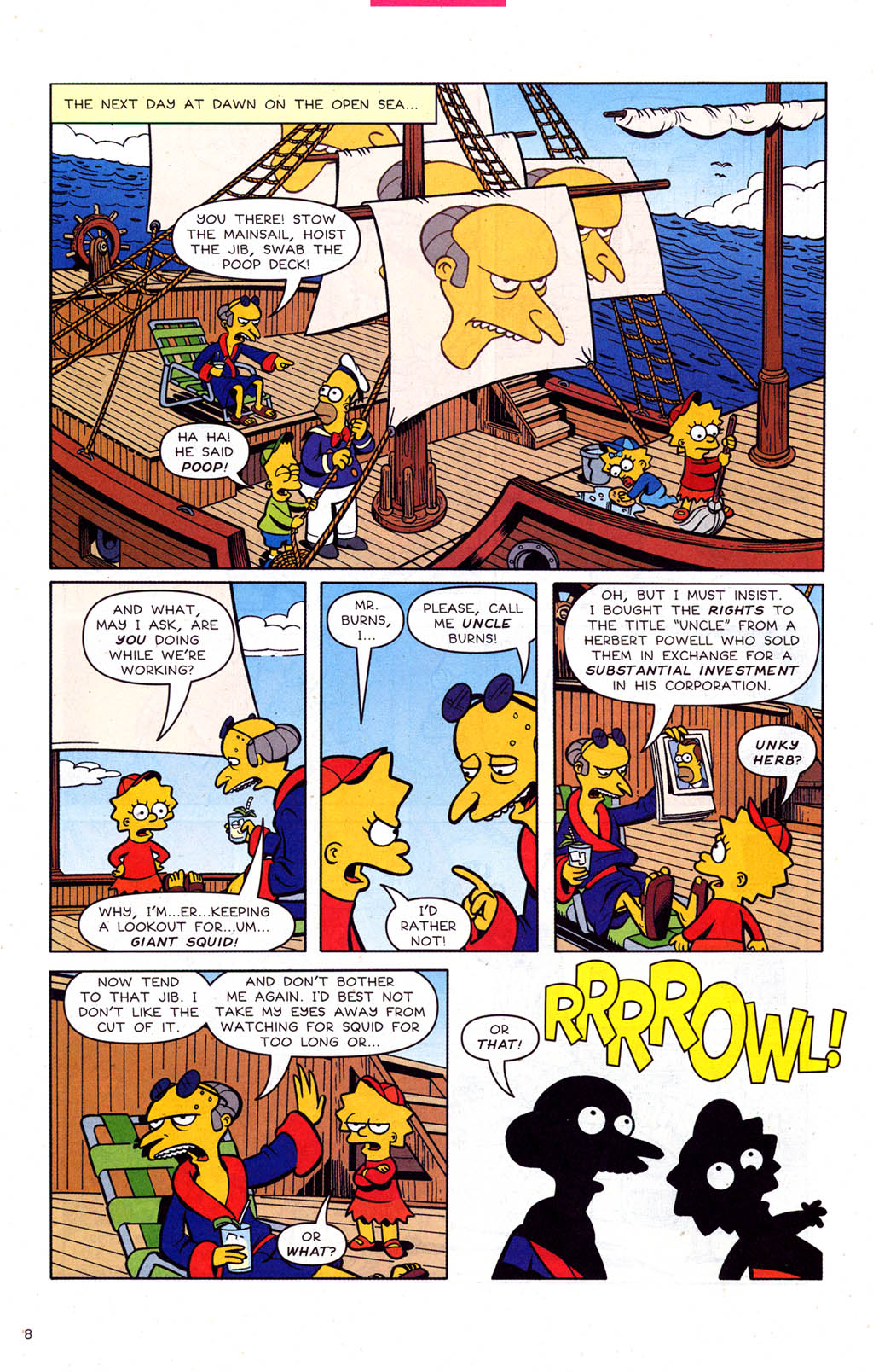 Read online Simpsons Comics comic -  Issue #102 - 9
