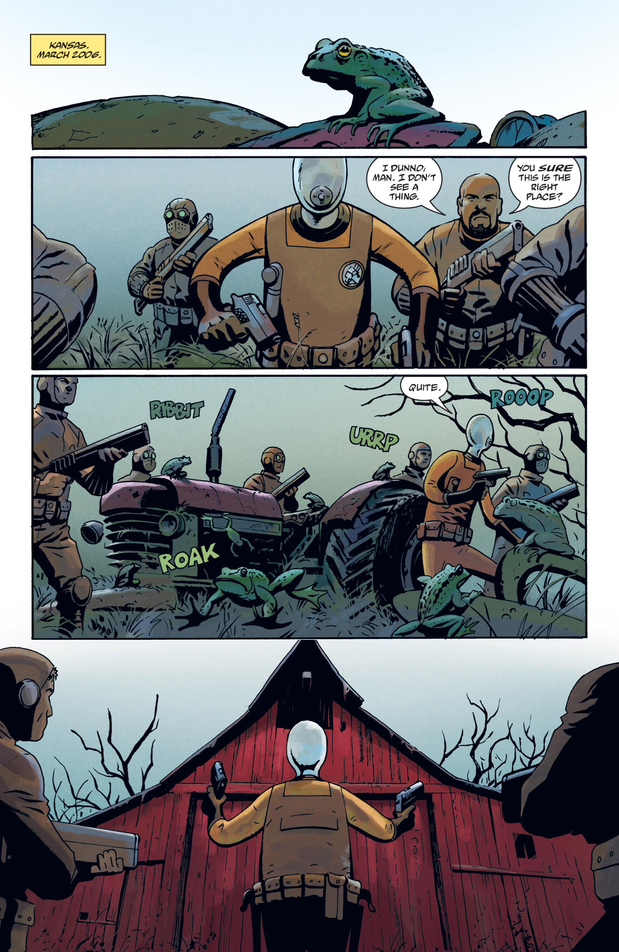 Read online B.P.R.D. (2003) comic -  Issue # TPB 12 - 85