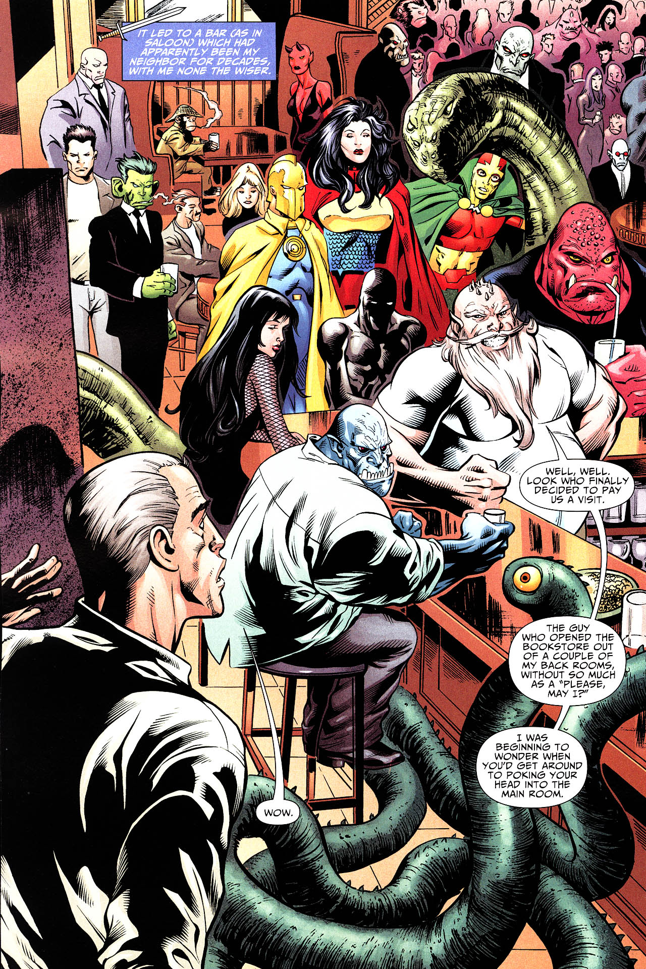 Read online Shadowpact comic -  Issue #12 - 11